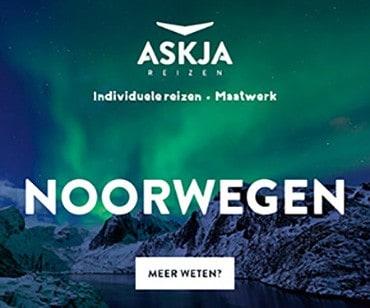 Schitterende reizen naar Noorwegen