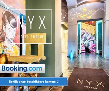 Het hippe, betaalbare NYX Hotel in Praag