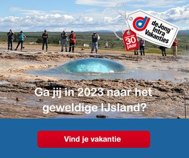 Prachtige IJsland-reizen van De Jong Intra
