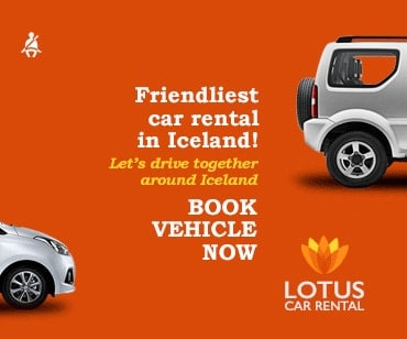 Lotus Car Rental in Iceland