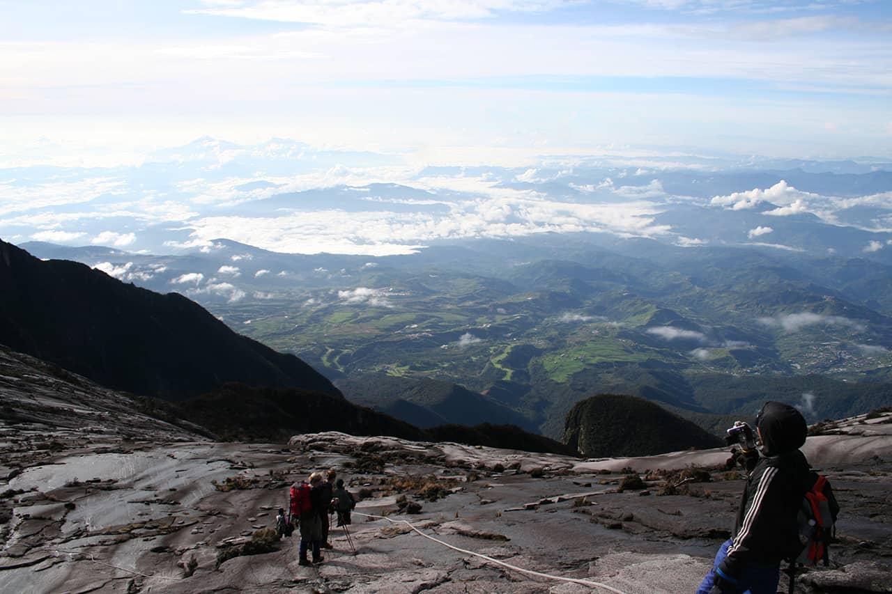 De berg Kinabalu in Maleisie.