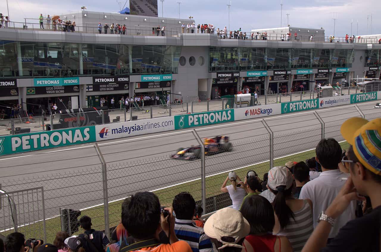 Formule 1 race van Maleisie