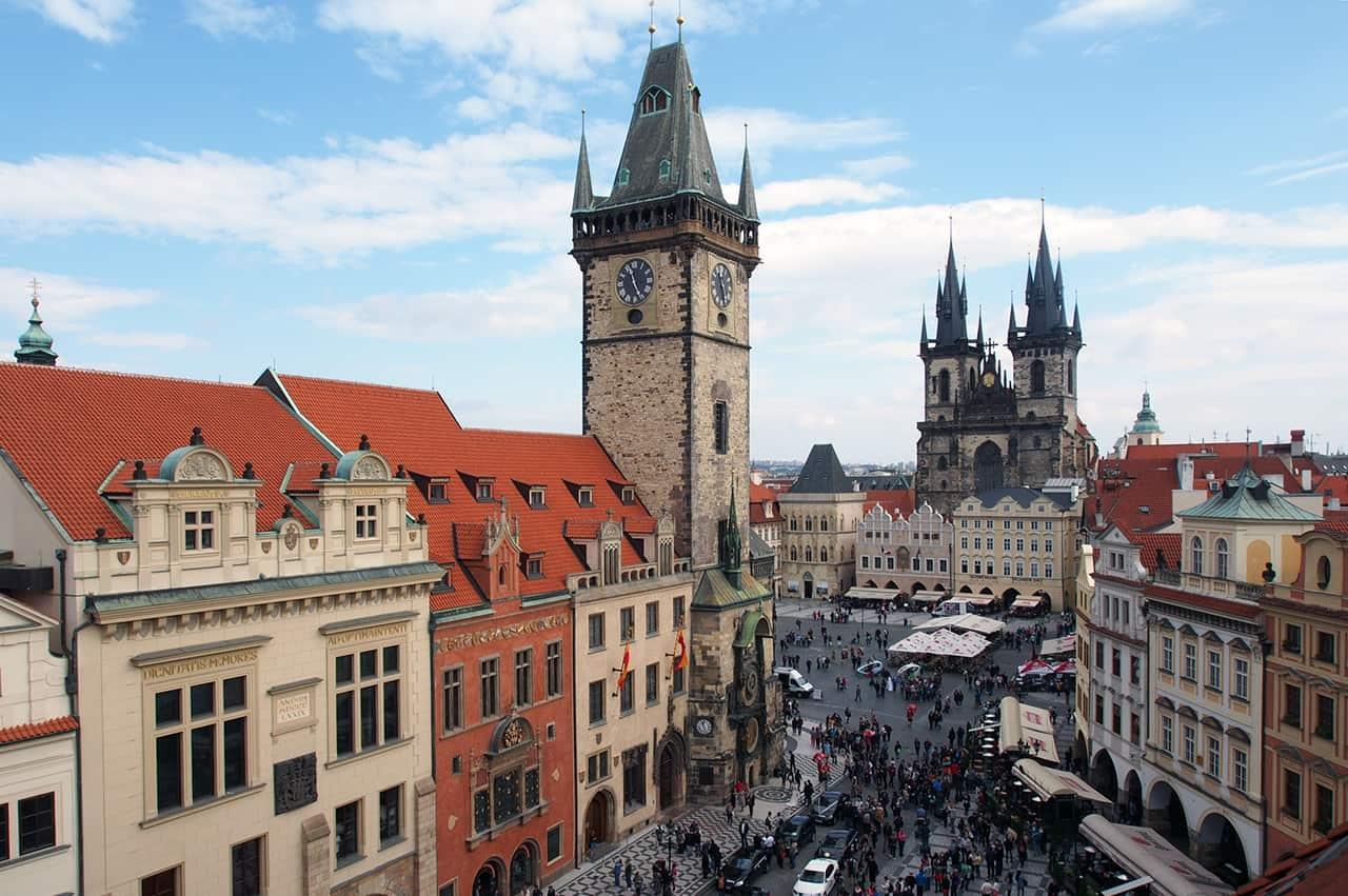 Centrum van Praag