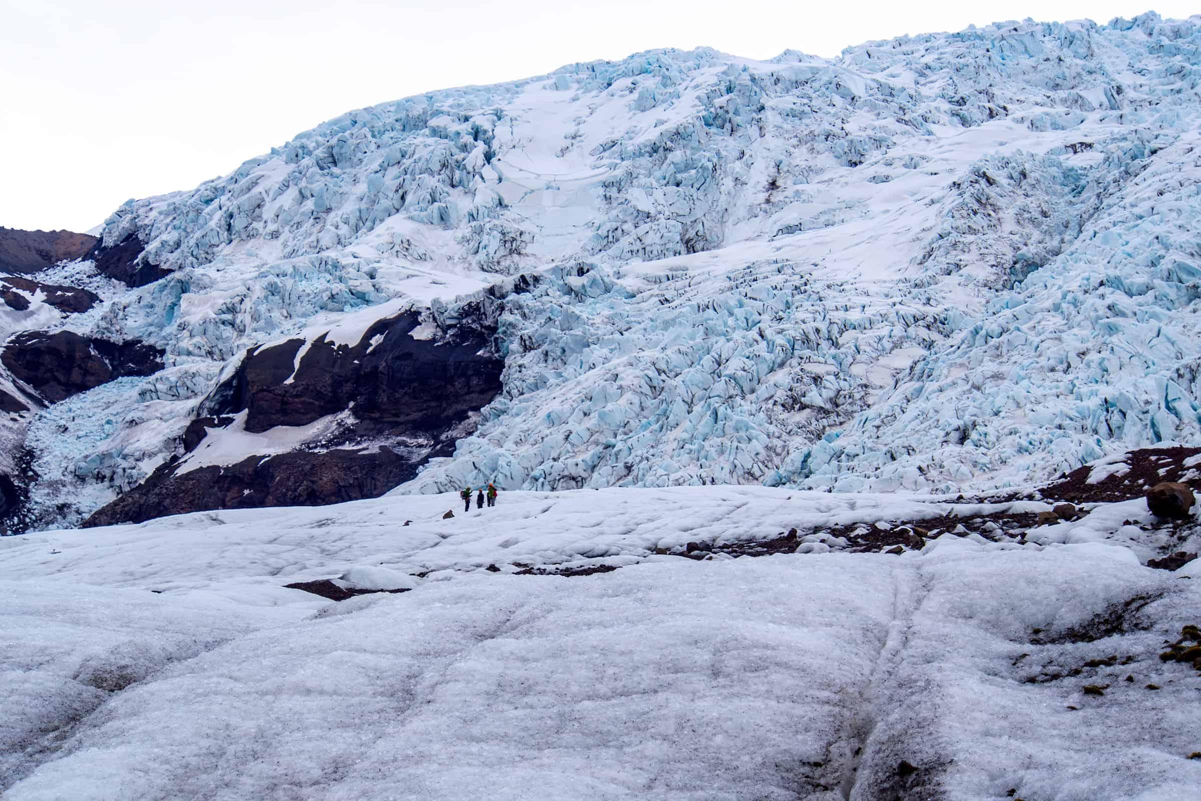 Falljokull gletsjerwandeling