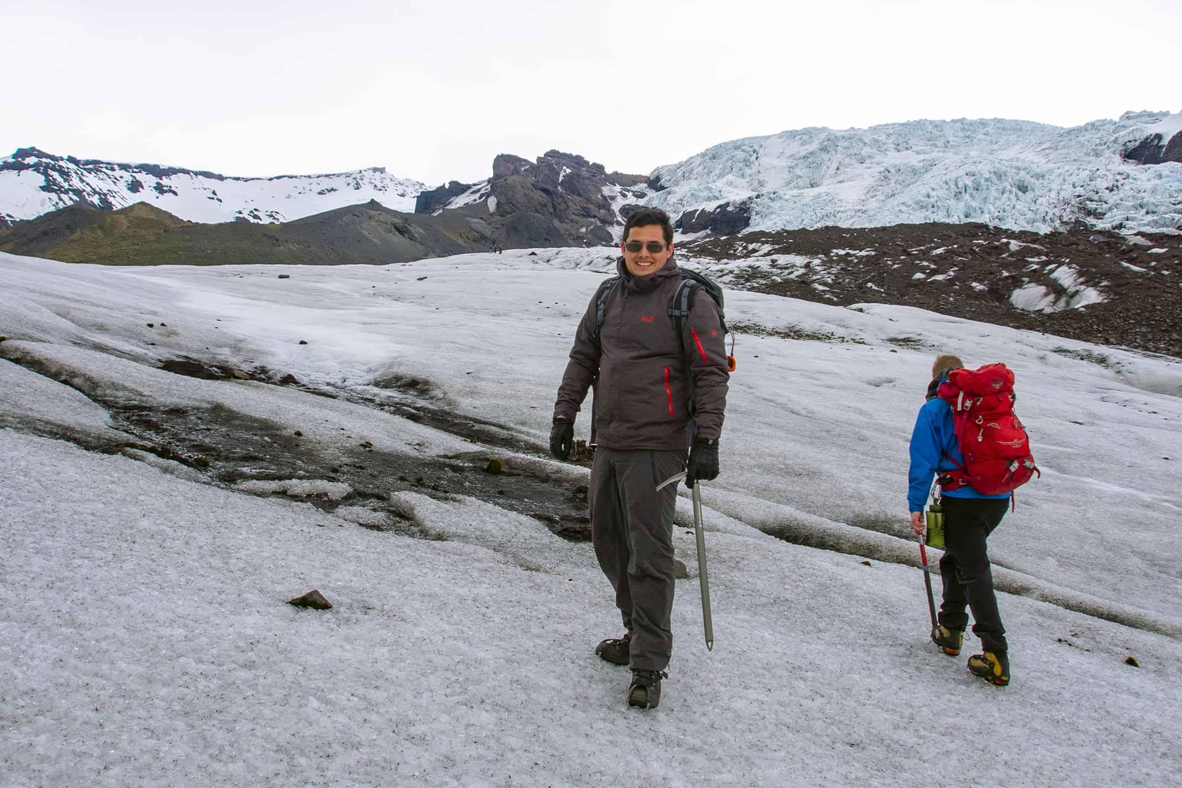 Falljokull gletsjerhike