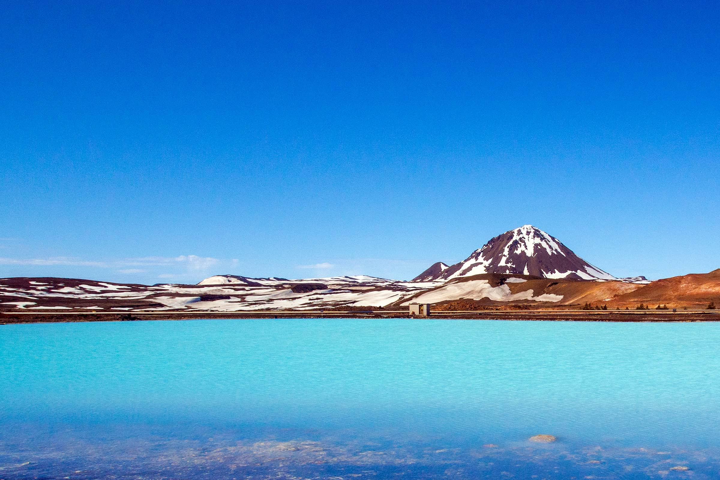 Myvatn natuurgebied in IJsland