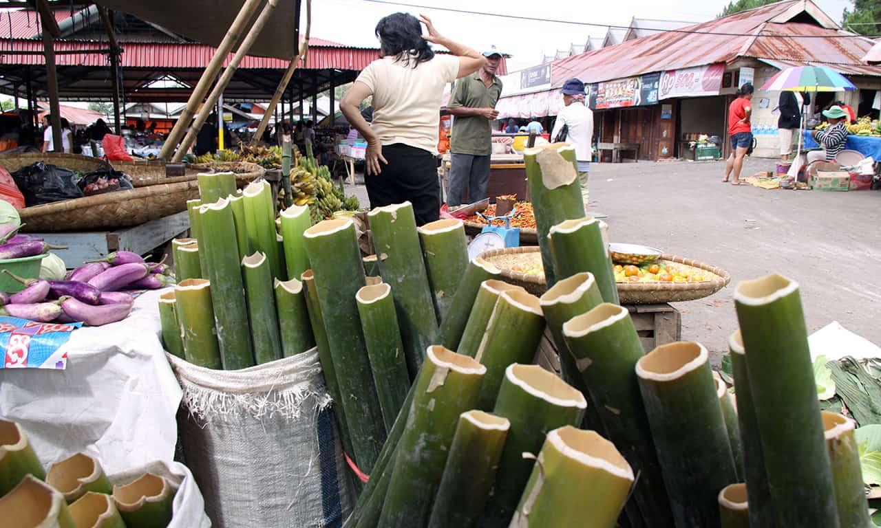 Huiveringwekkende dagmarkt van Tomohon