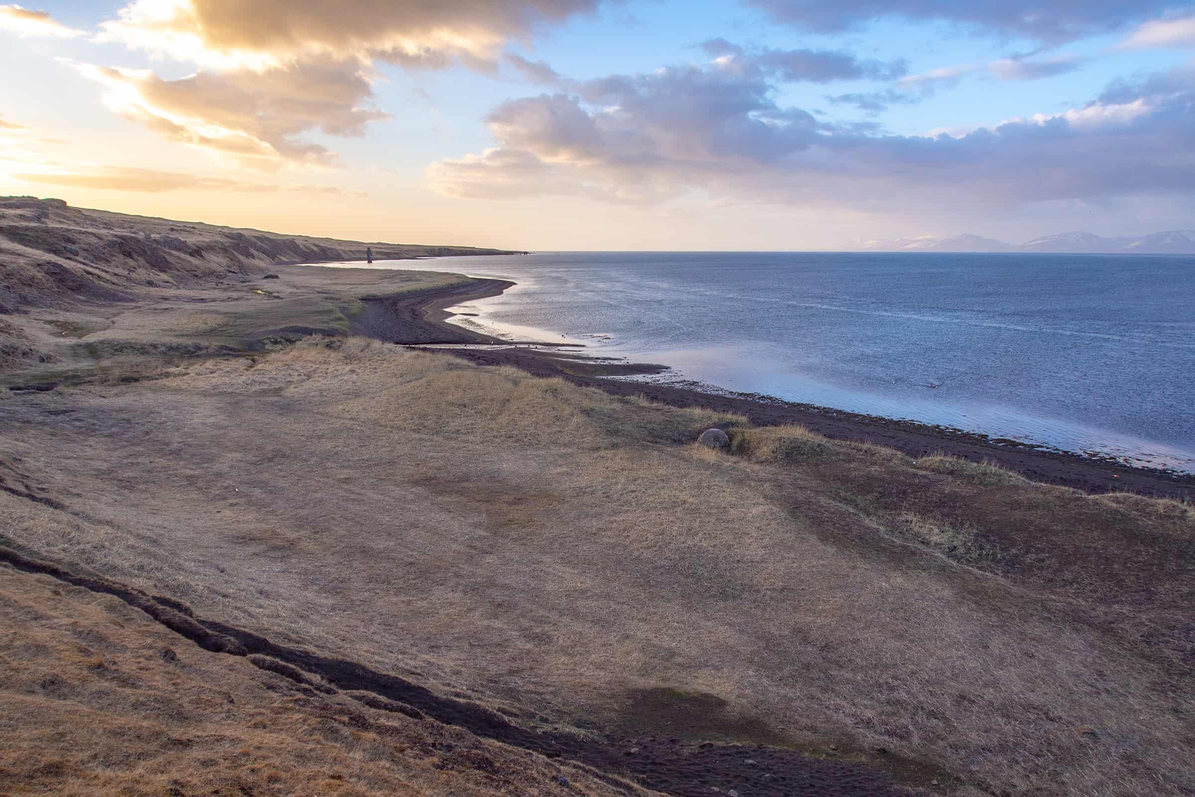 Schitterende stranden bij Hvítserkur