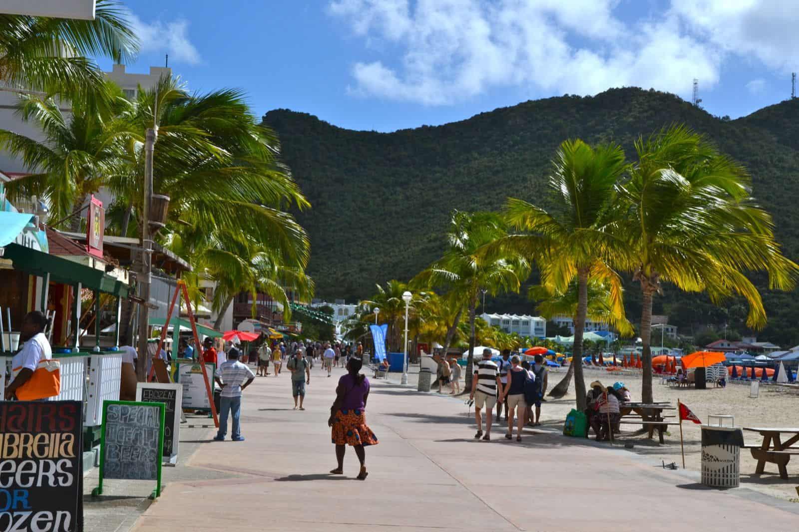 Vakantie Sint Maarten