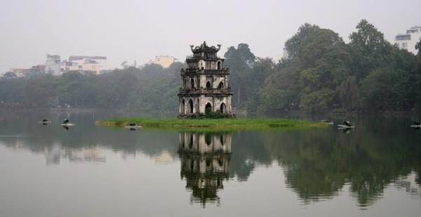 004 hanoi The turtle tower
