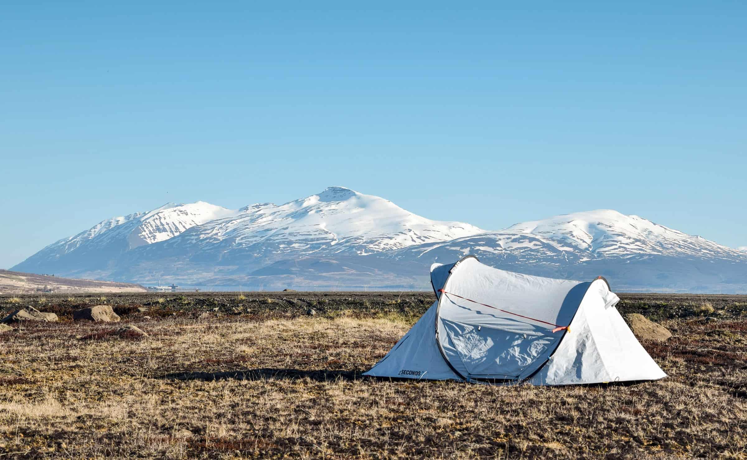 Kamperen in IJsland