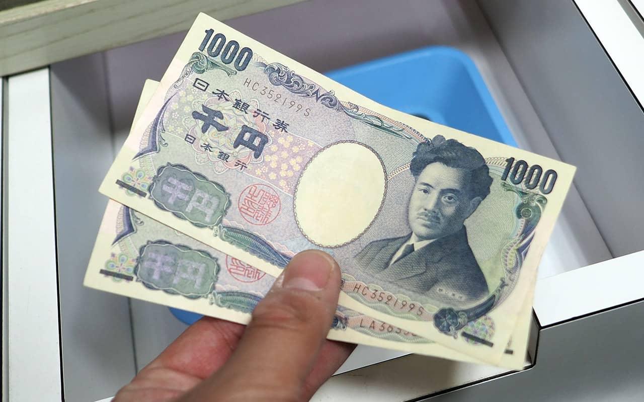 Kosten pinnen in Japan