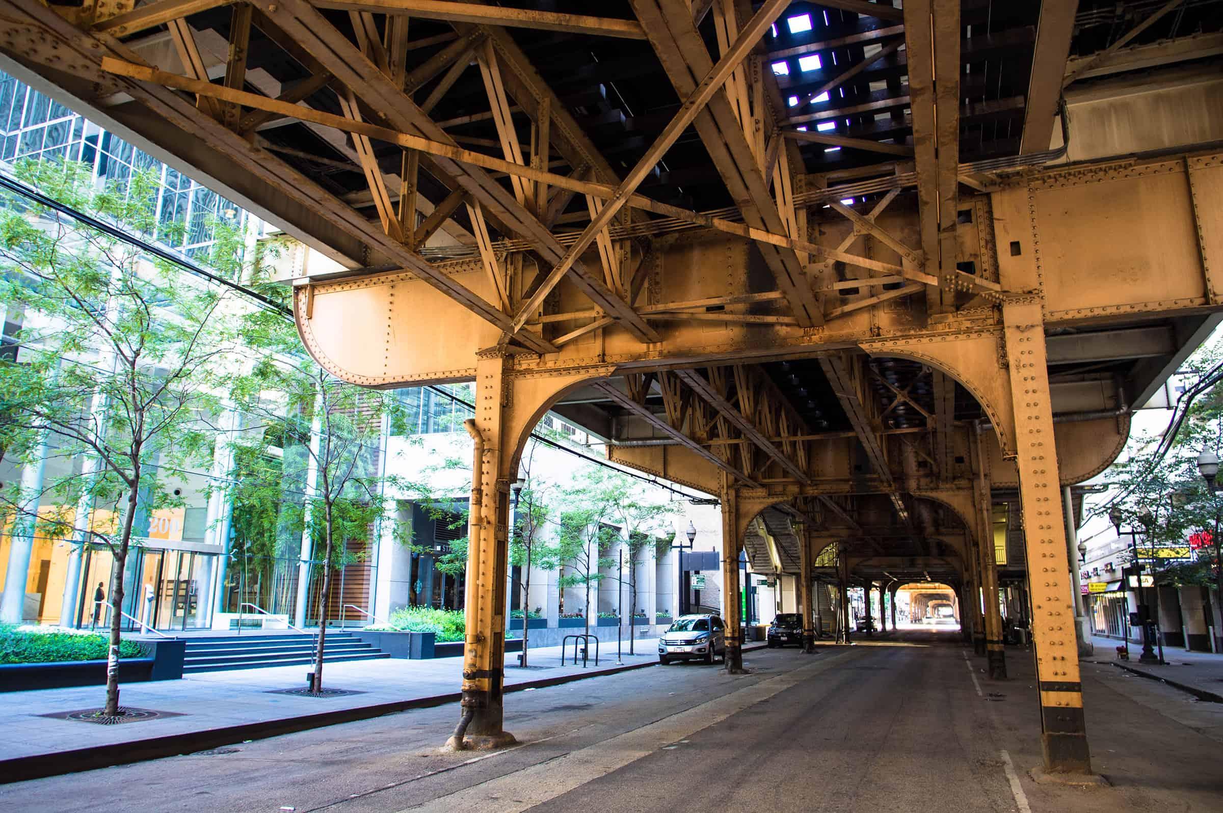 De bekende Loop van Chicago