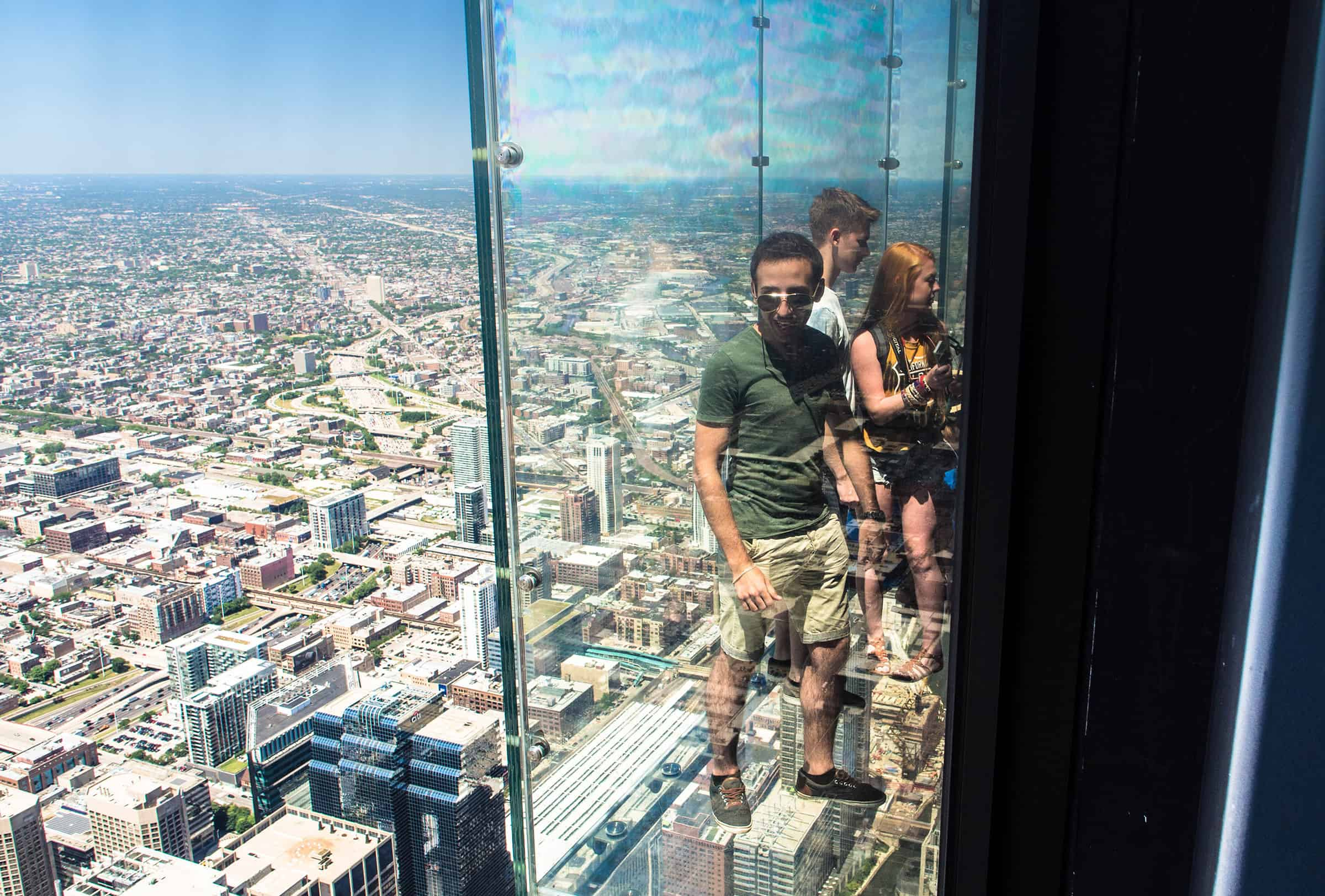 Skydeck Willis Tower in Chicago