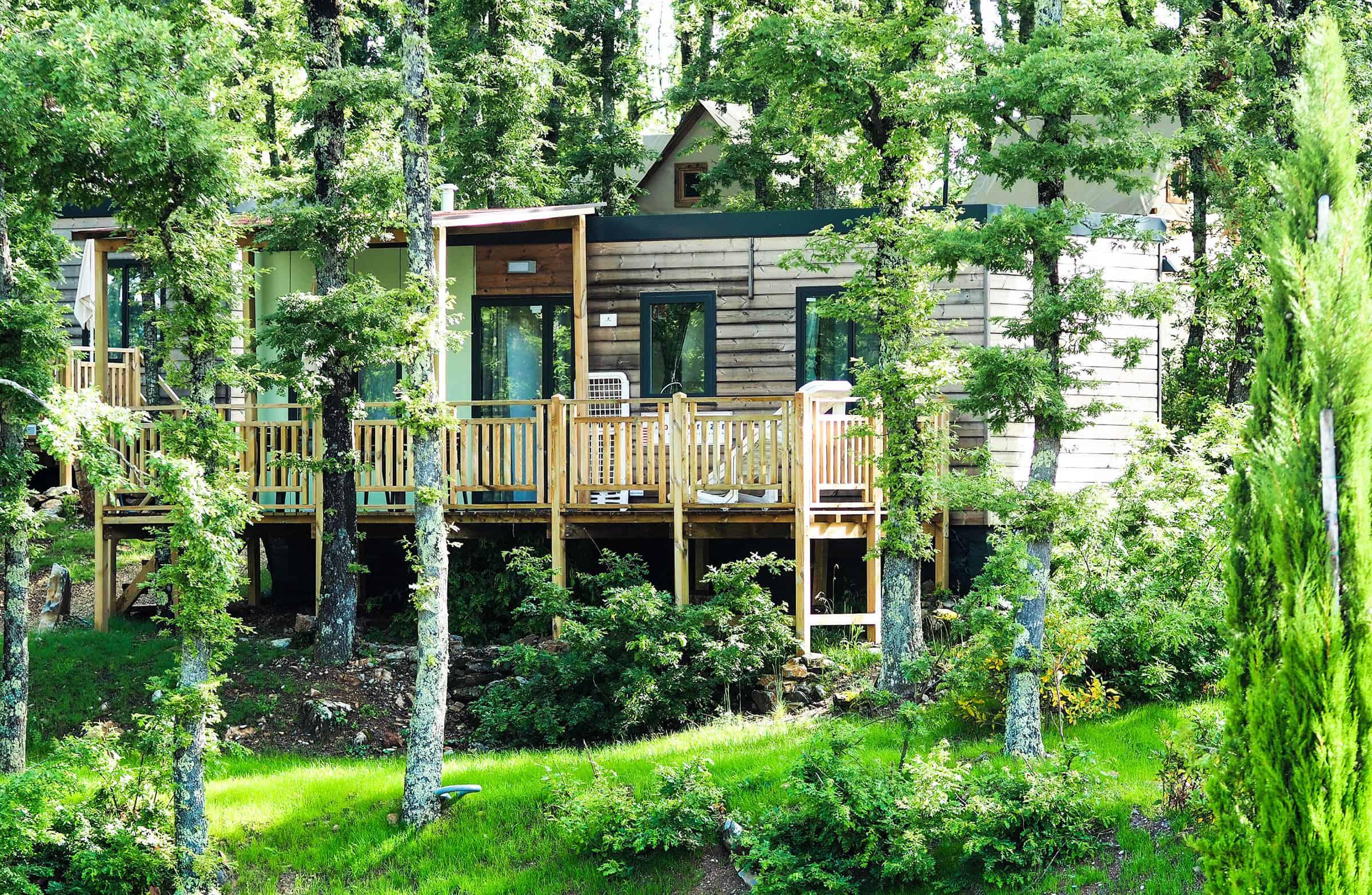 Accommodatie op de camping