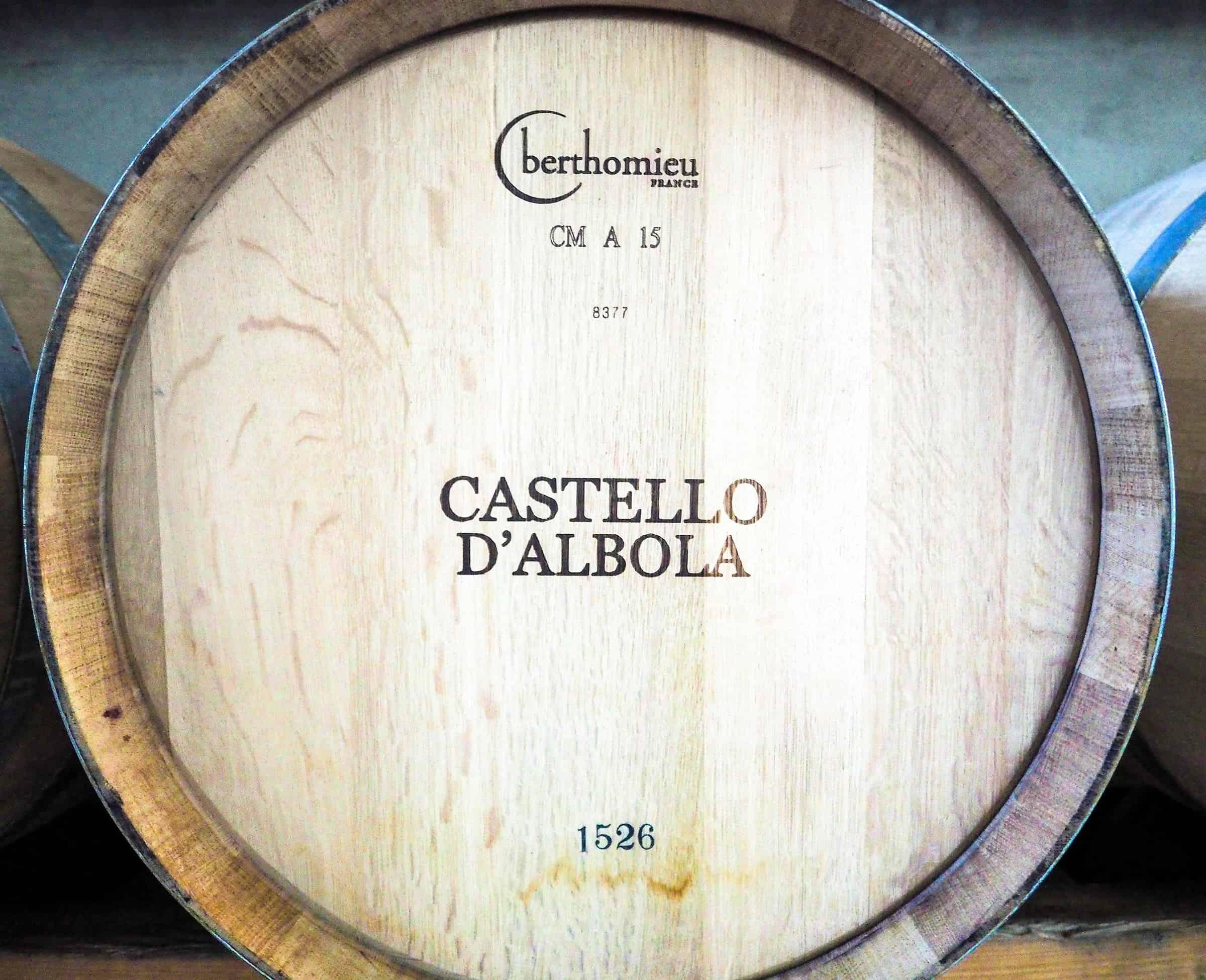 Wijnrondleiding en wijnproeverij bij Castello d'Albola