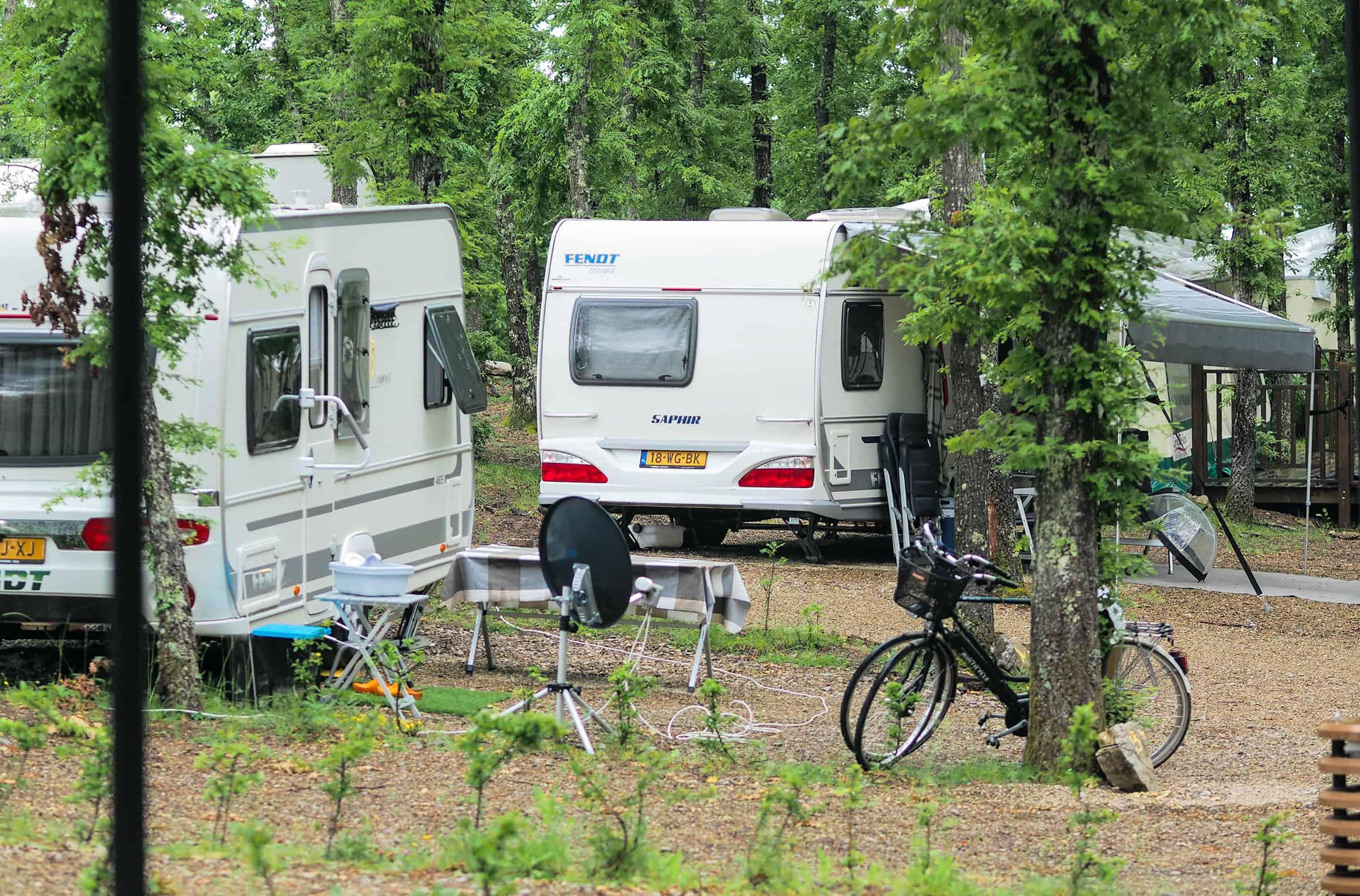 Gewone kampeerplekken