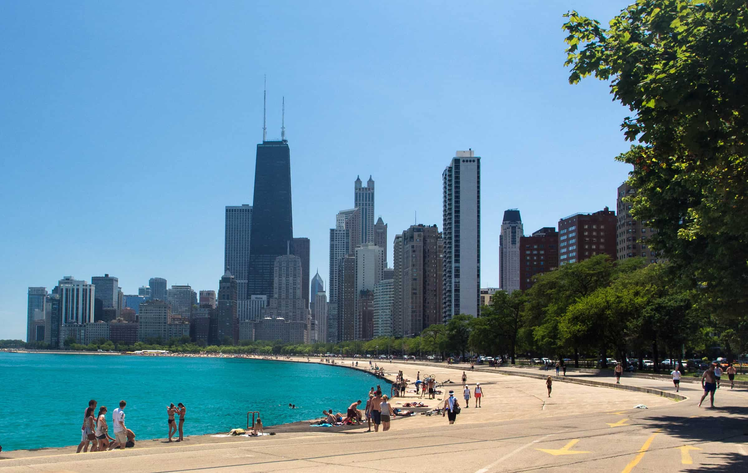 Lakefront Trail in Chicago