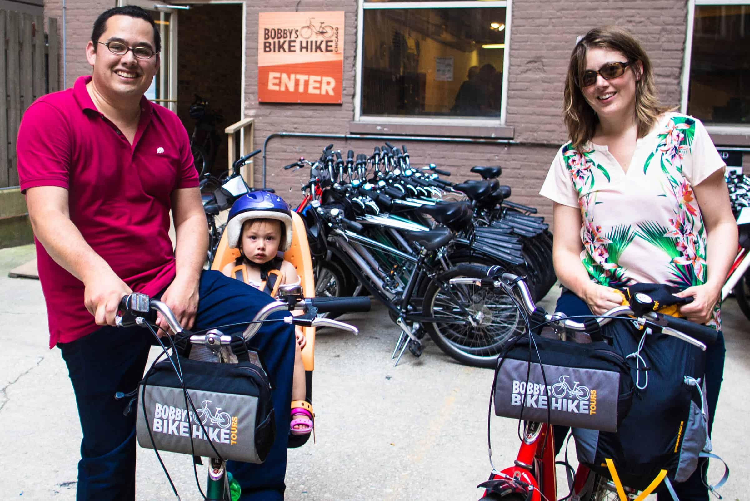 Huur makkelijk een fiets (met kinderzitje) bij Bobby's Bike Rental