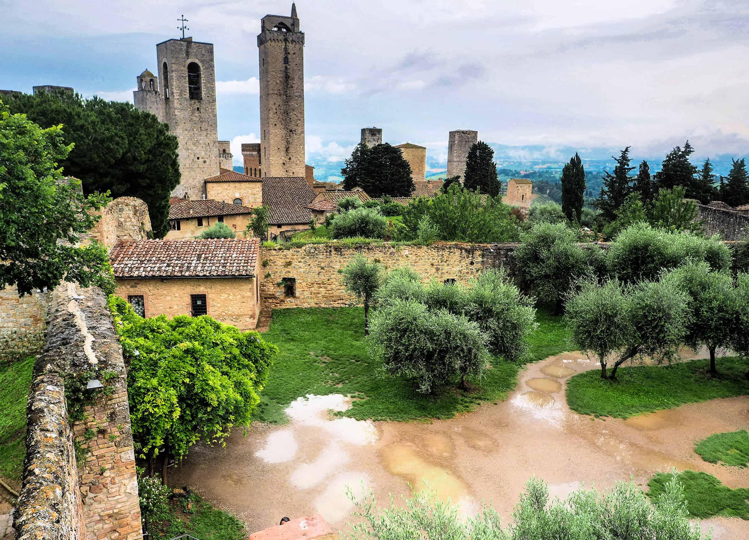 Uitzicht over San Gimignano
