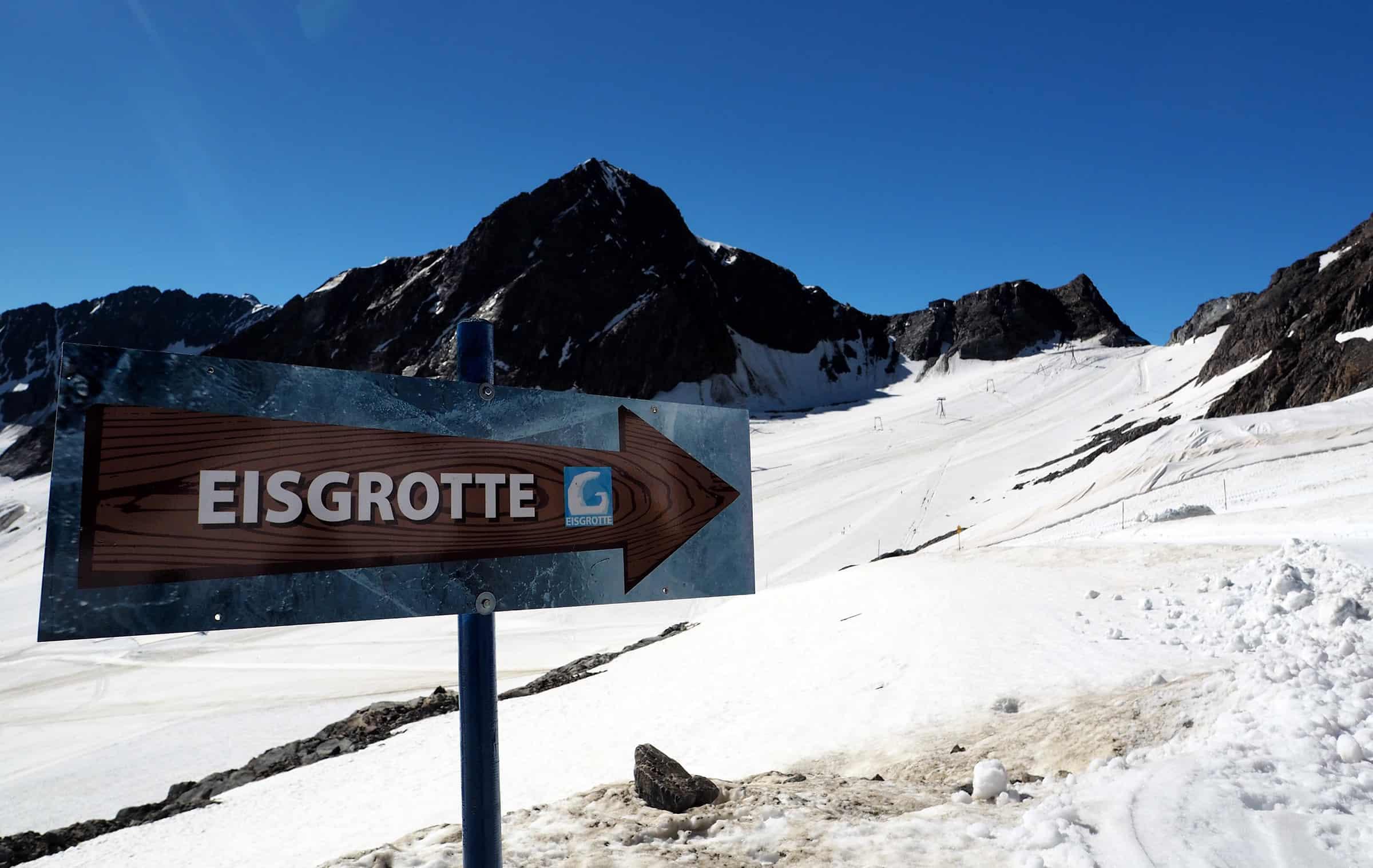 De weg naar de ijsgrot