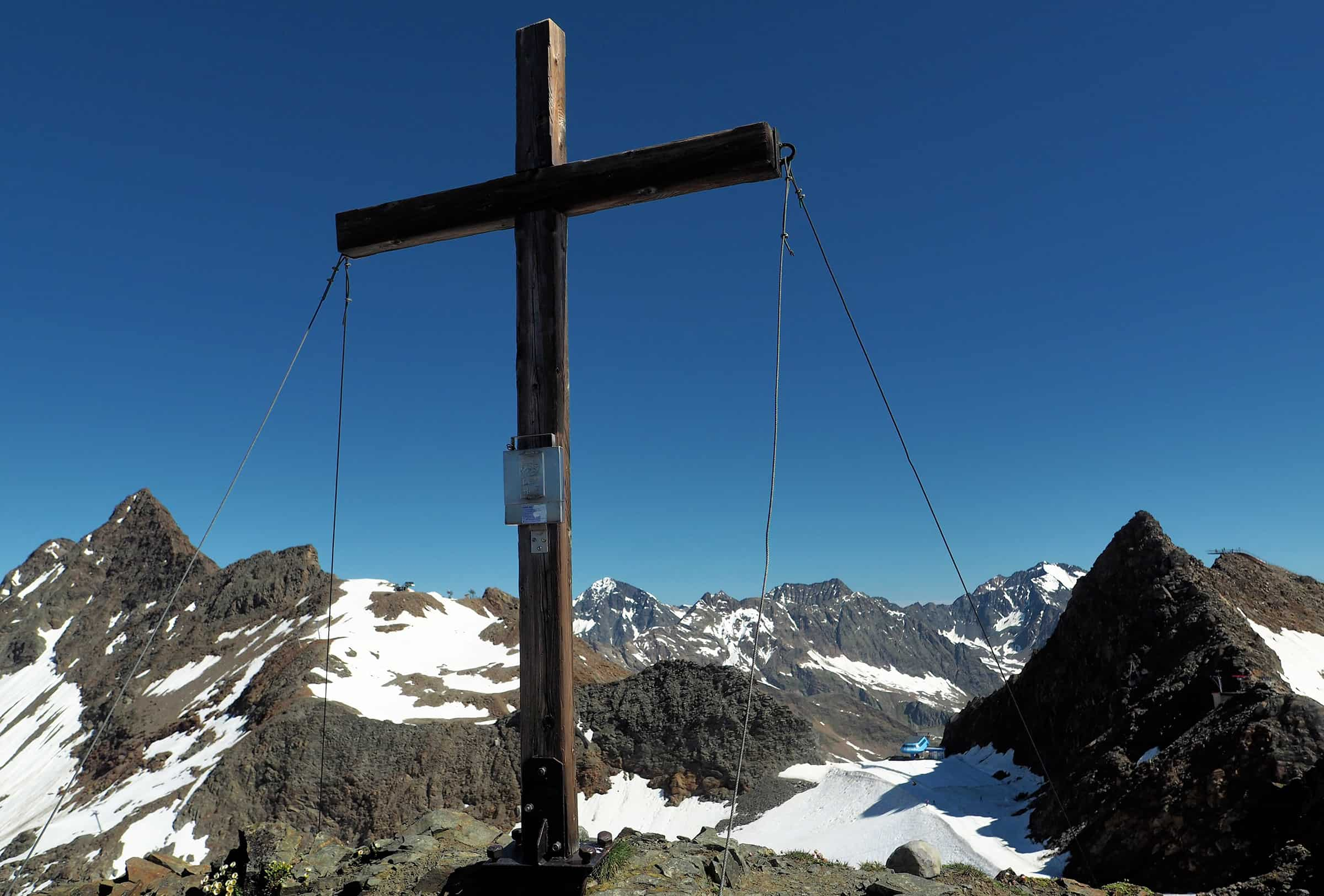 Aan de top
