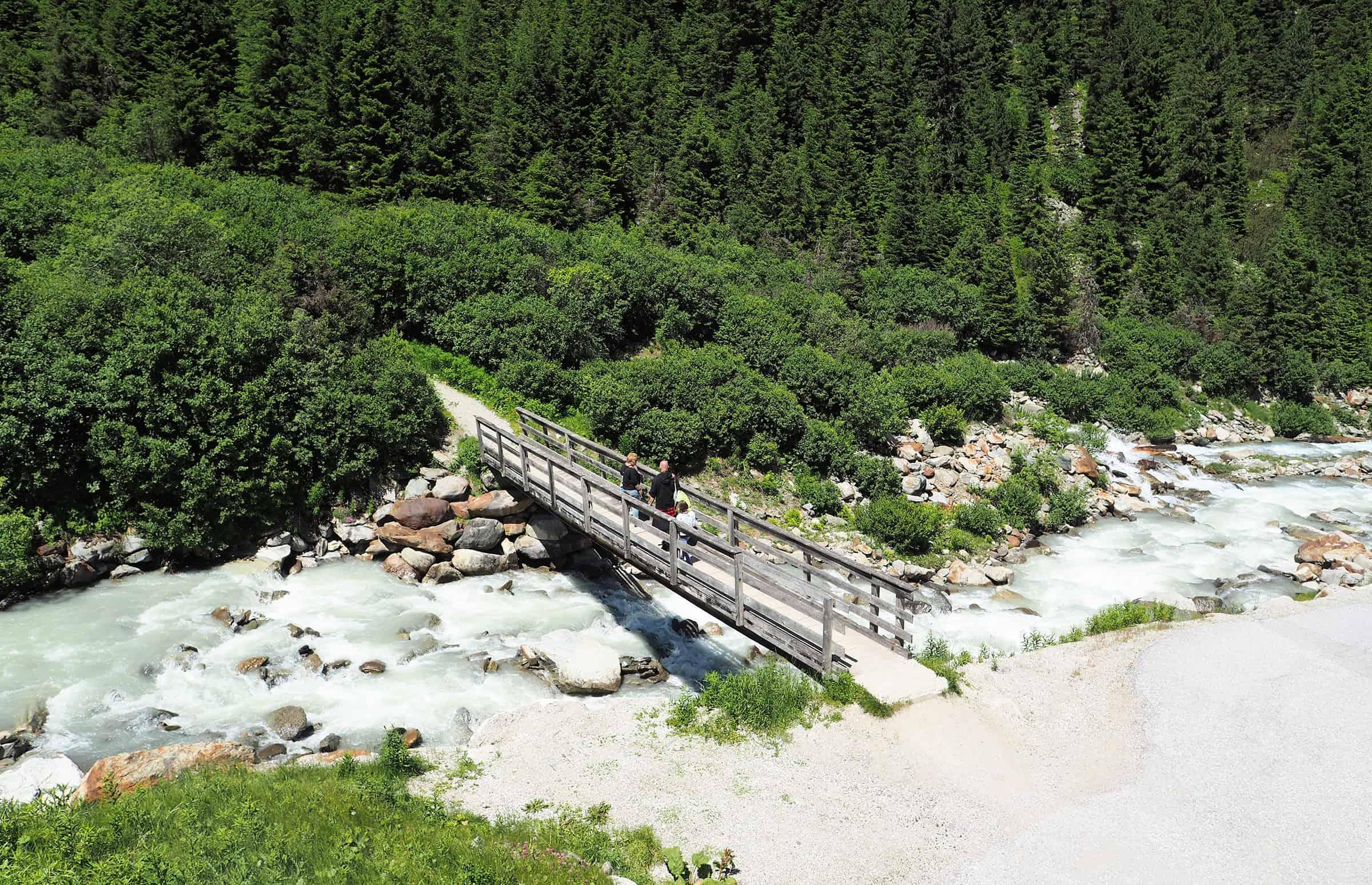 Waterval dichtbij de Mutterberg Valley Terminal