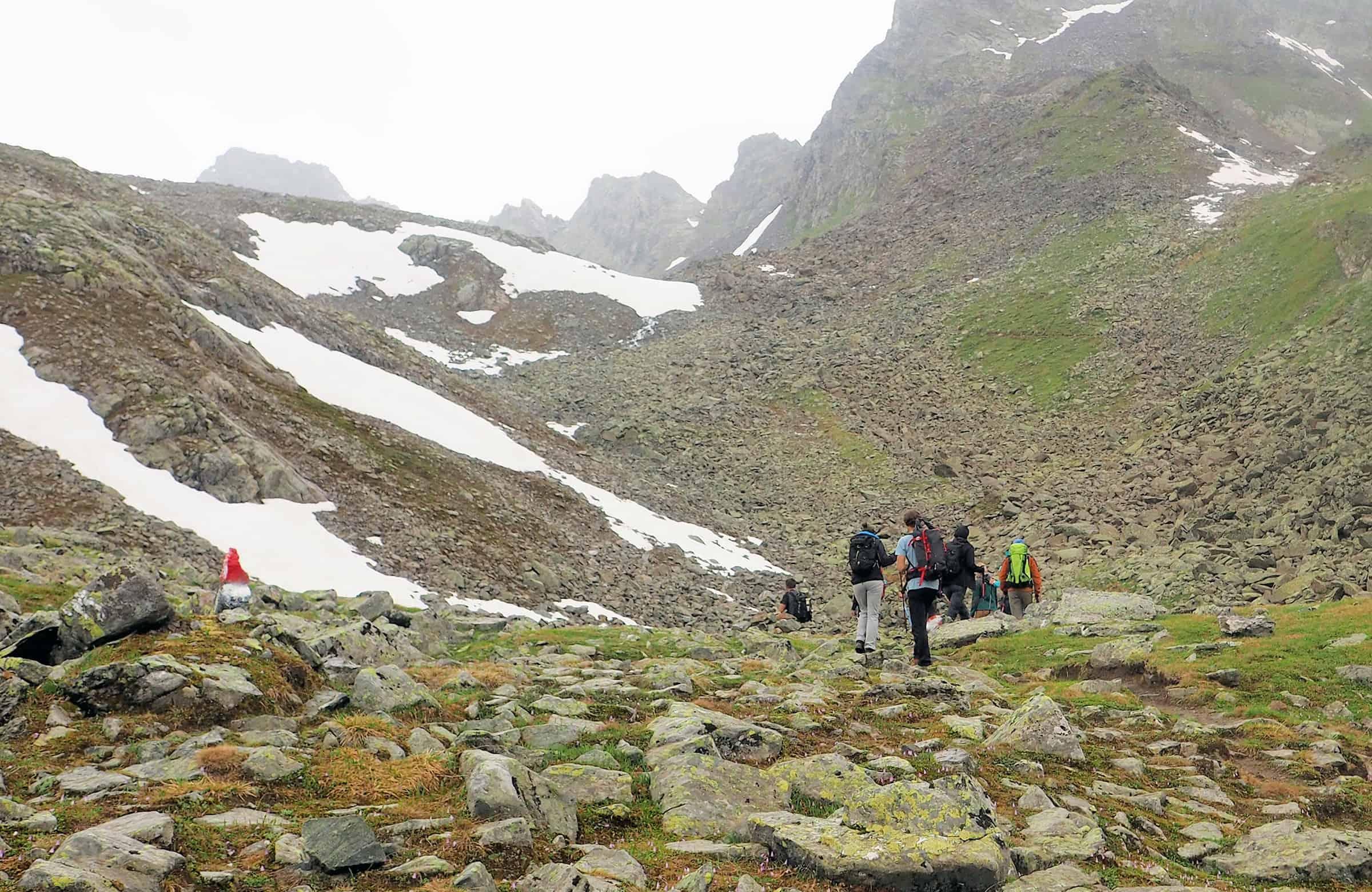 De tocht naar de top