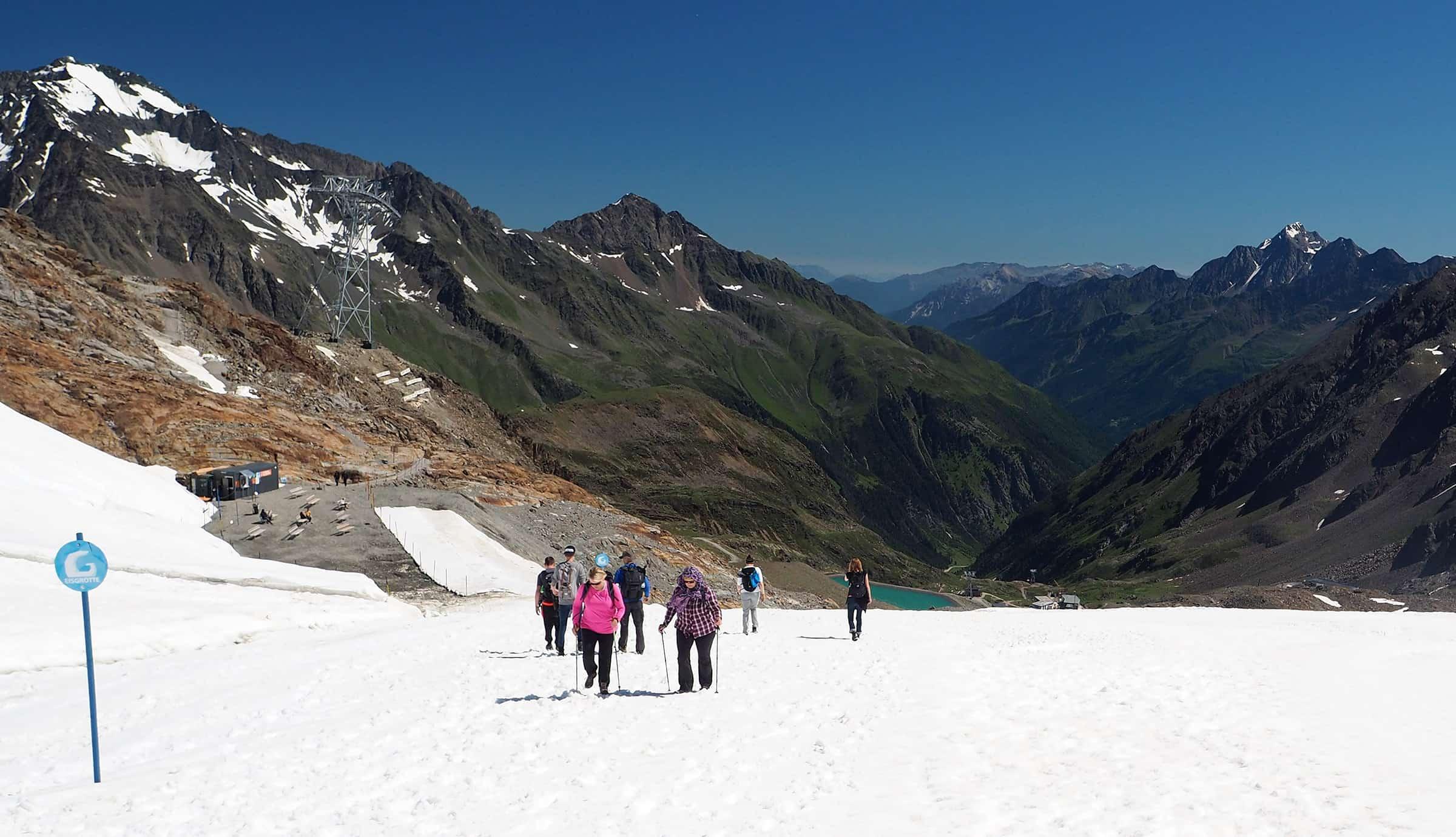 Altijd sneeuw op de Stubai gletsjer 3