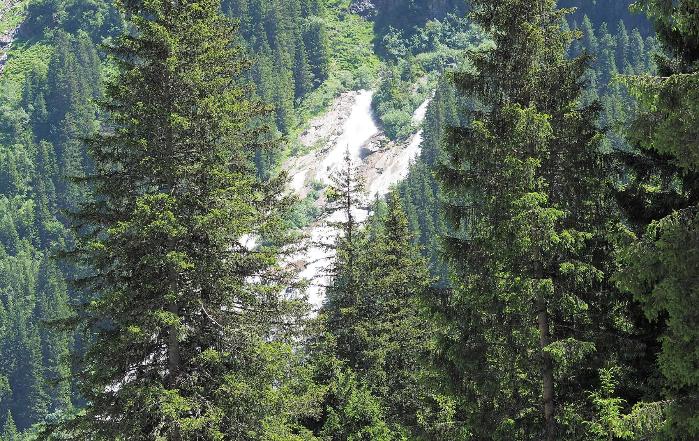 Schitterende watervallen in Stubai 1