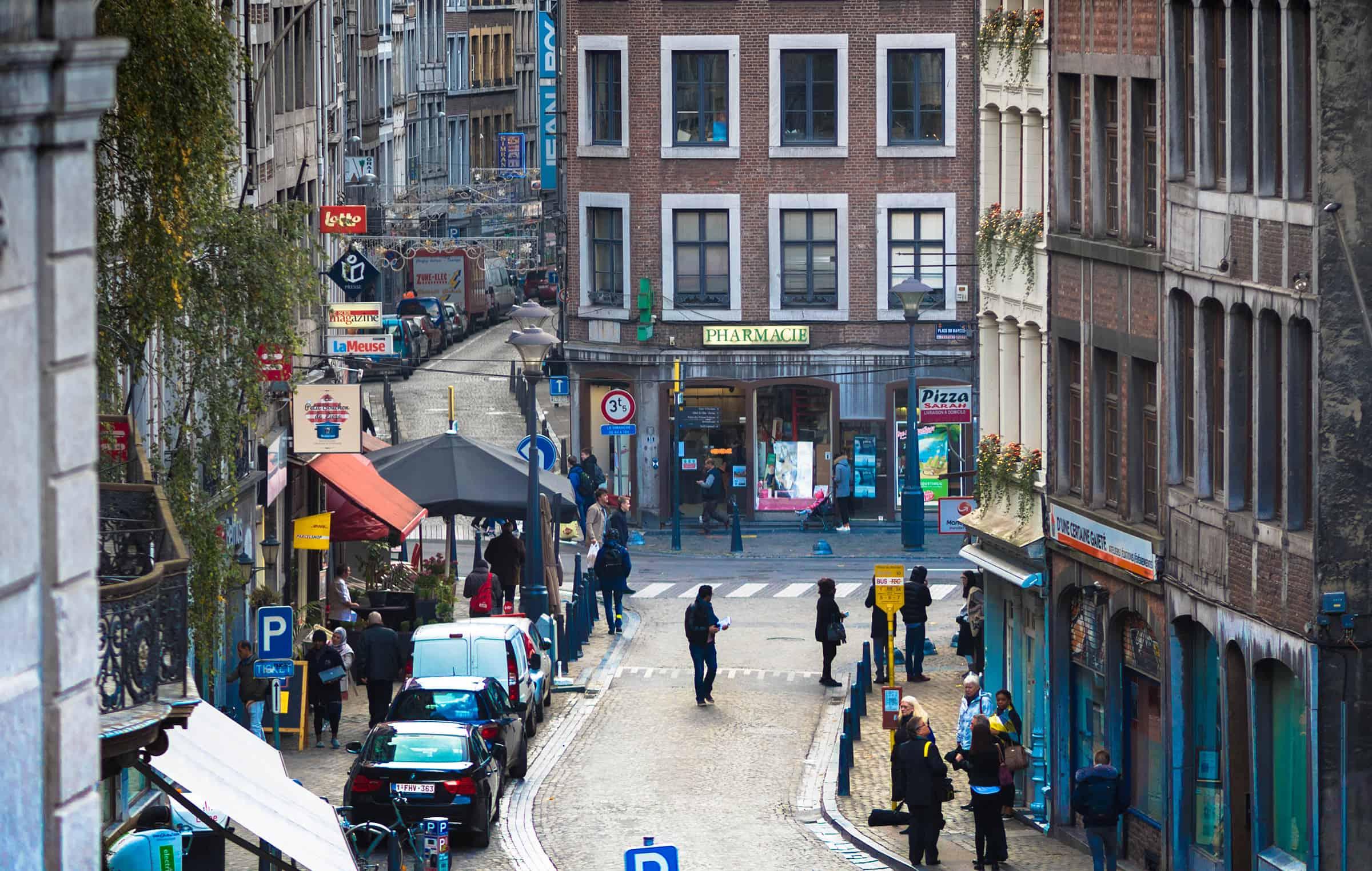 Het centrum van Luik 4
