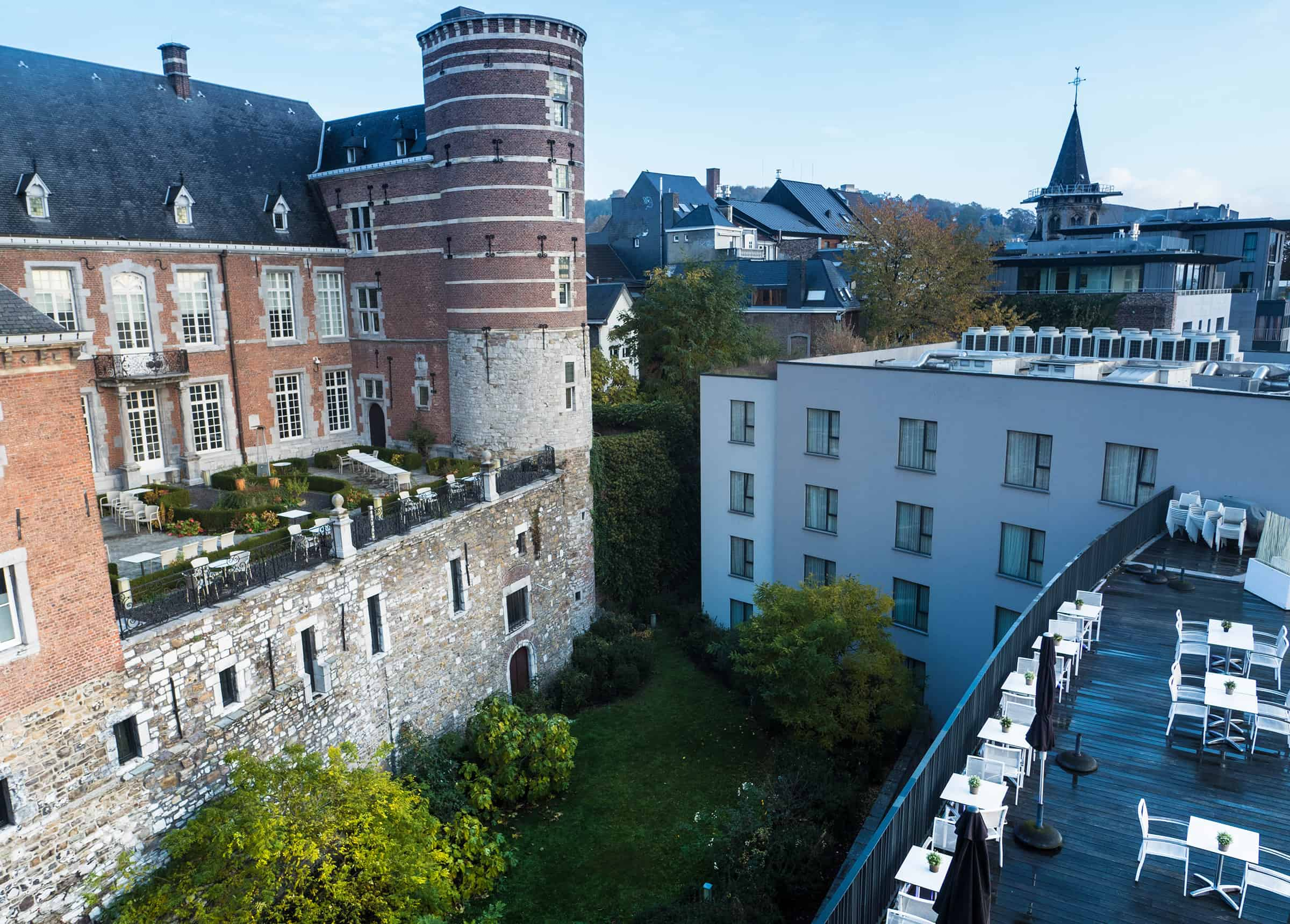 Meest luxe hotel van Liege
