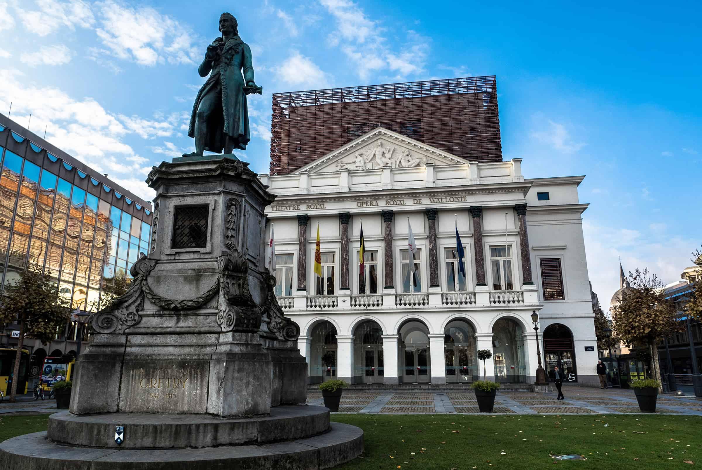 Operagebouw van Luik