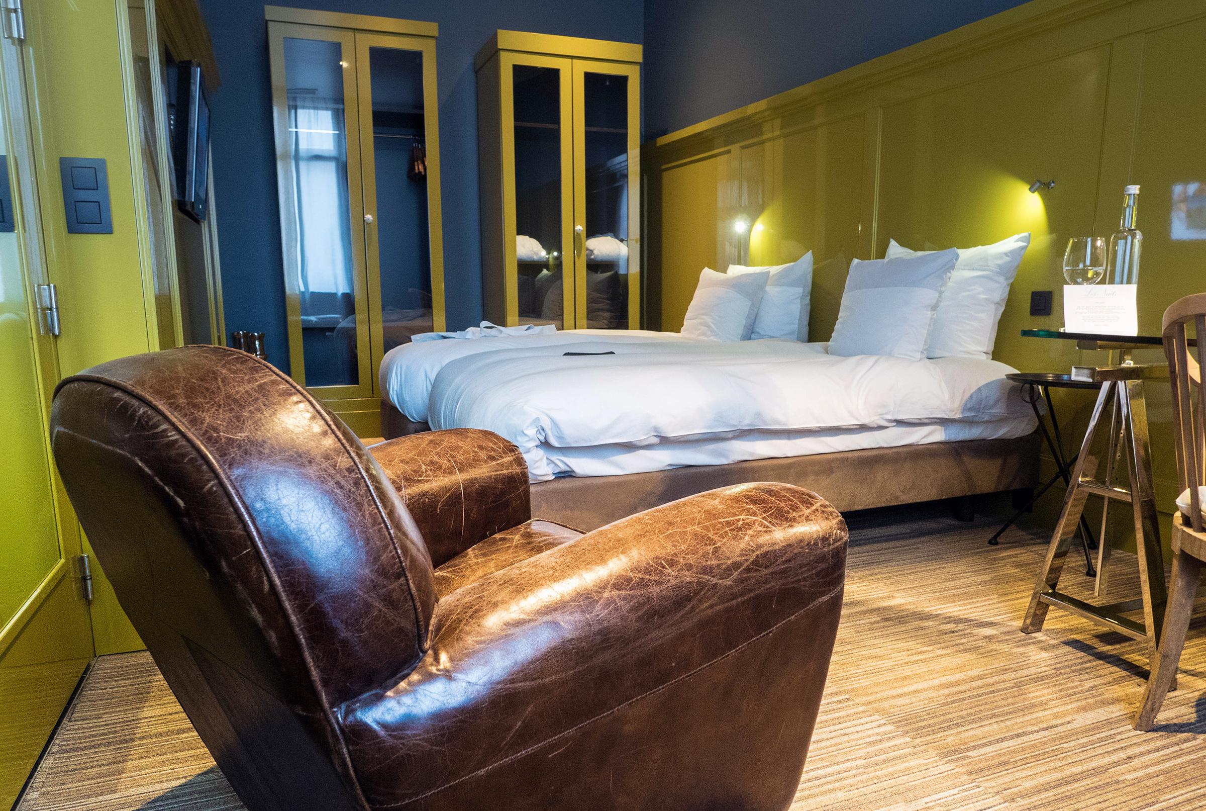 Kamer Les Nuits Hotel Antwerpen