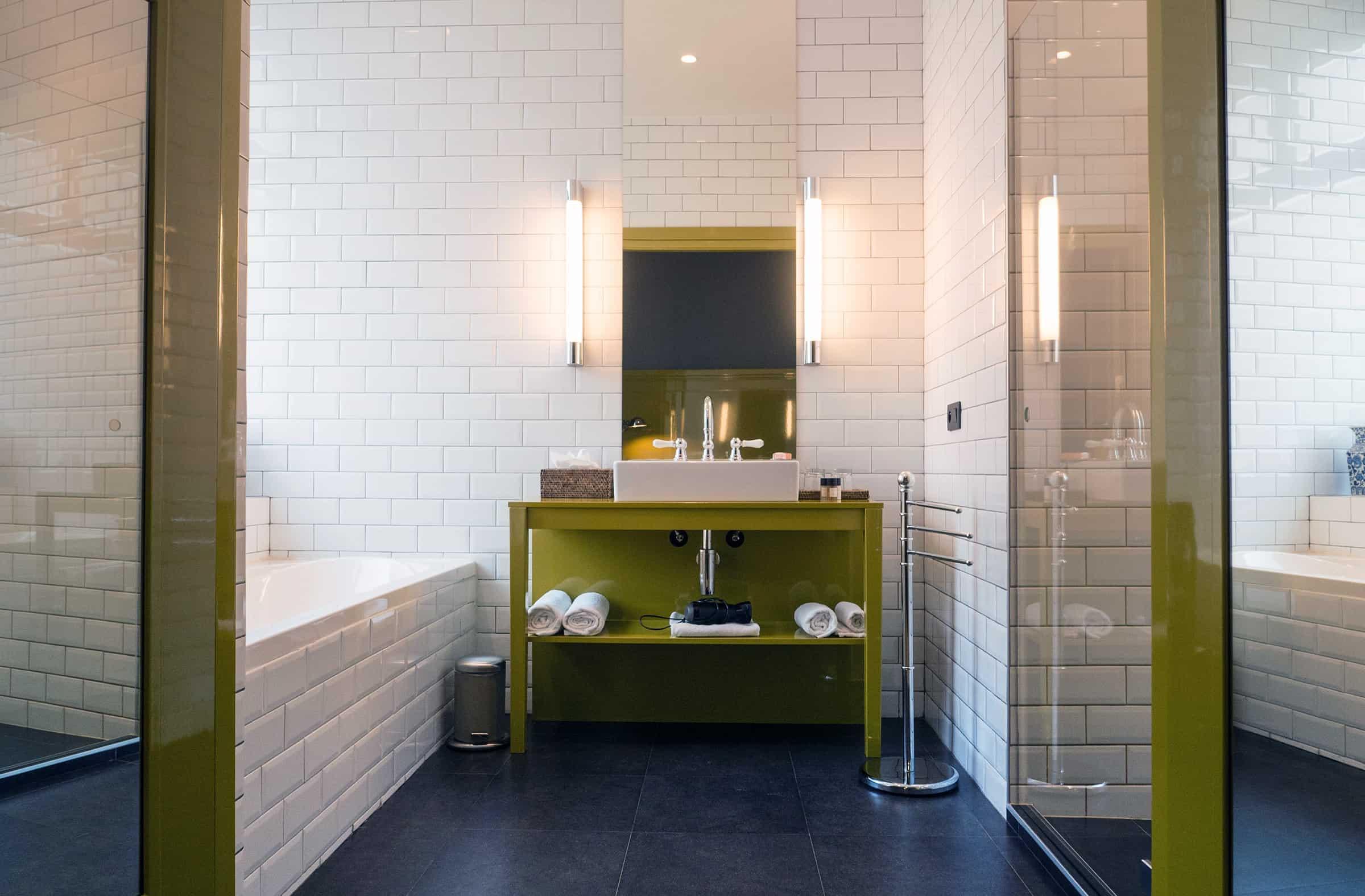 Badkamer Les Nuits Hotel Antwerpen