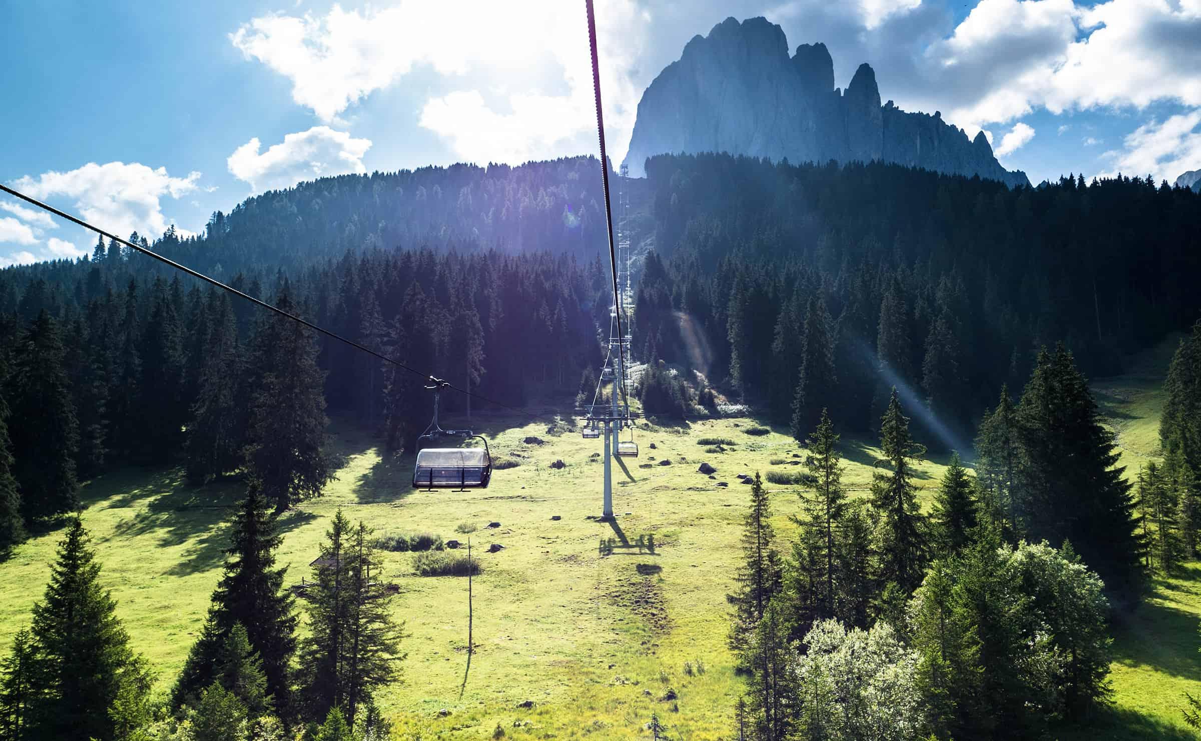 Monte Pana kabelbaan