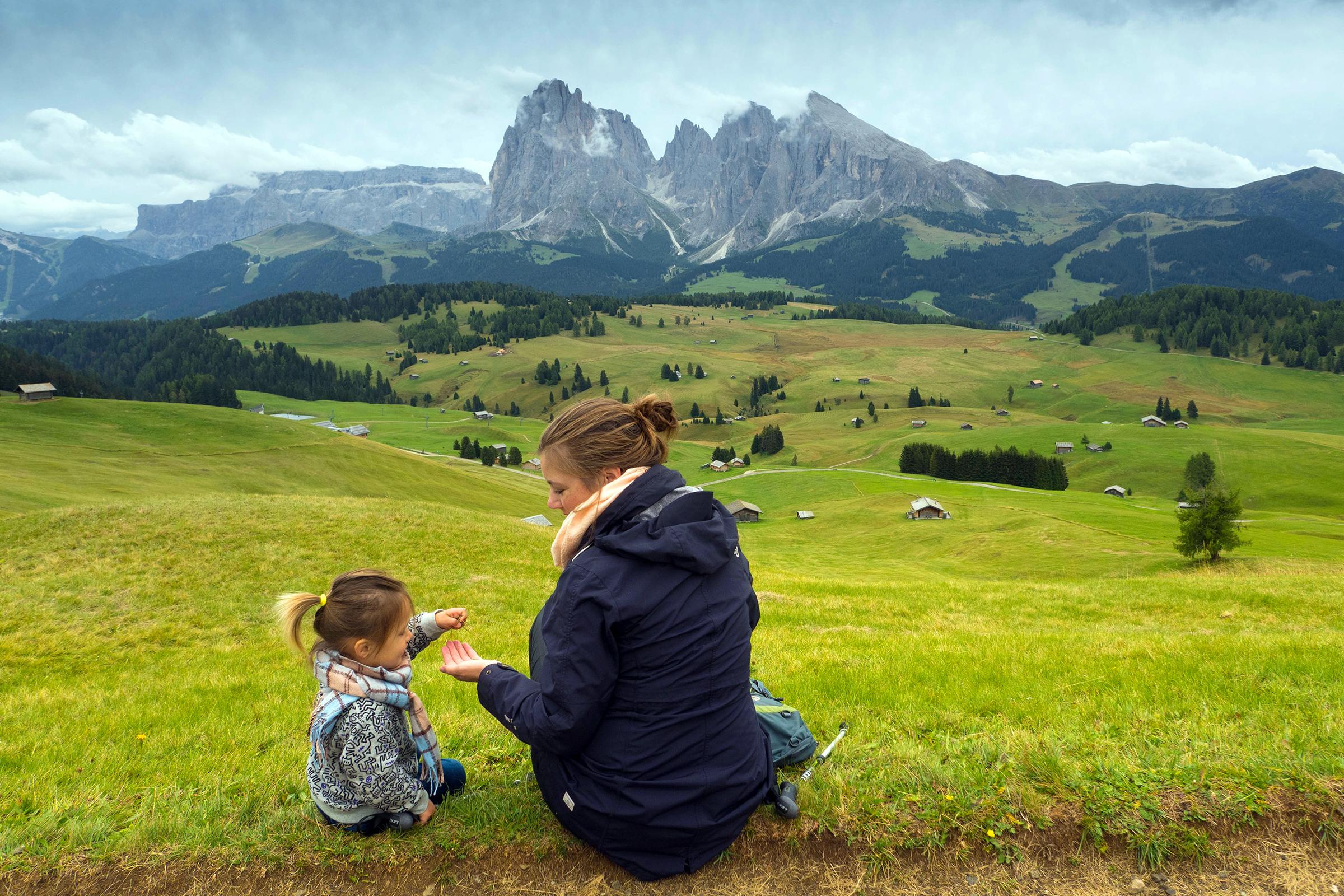 Schitterend uitzicht in de bergen