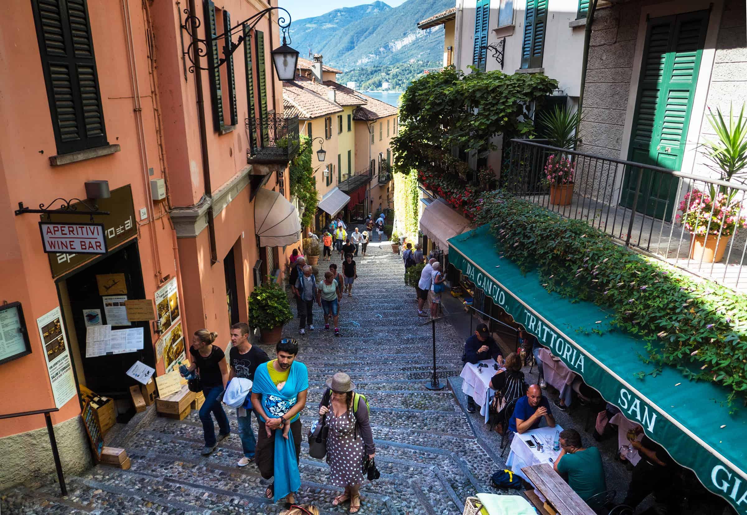 Het leuke dorp Bellagio 2