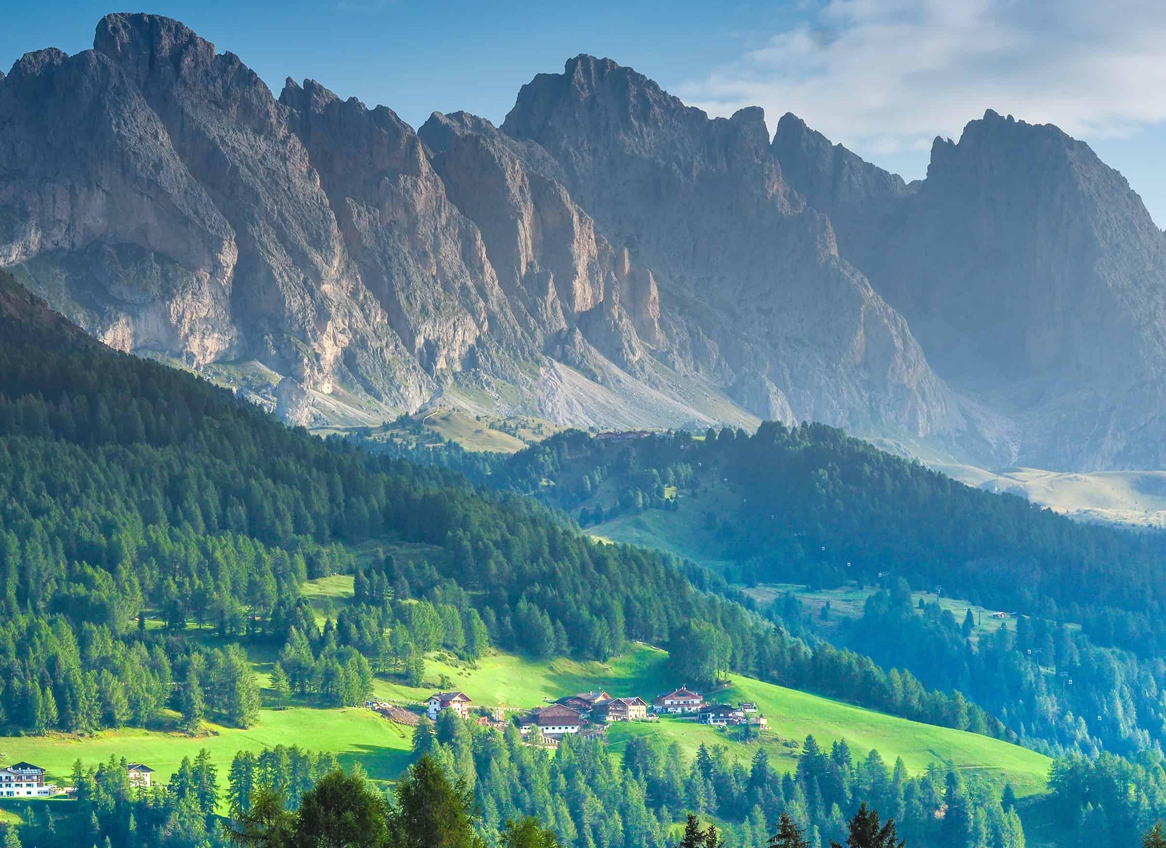 De prachtige Dolomieten in het noorden van Italie