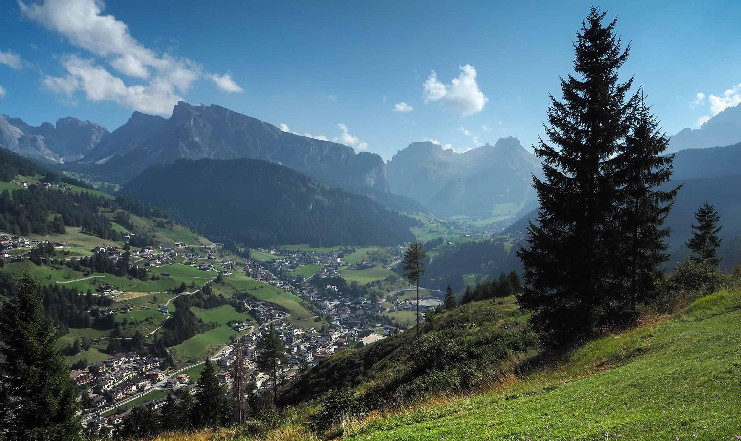 Fantastisch uitzicht over Val Gardena
