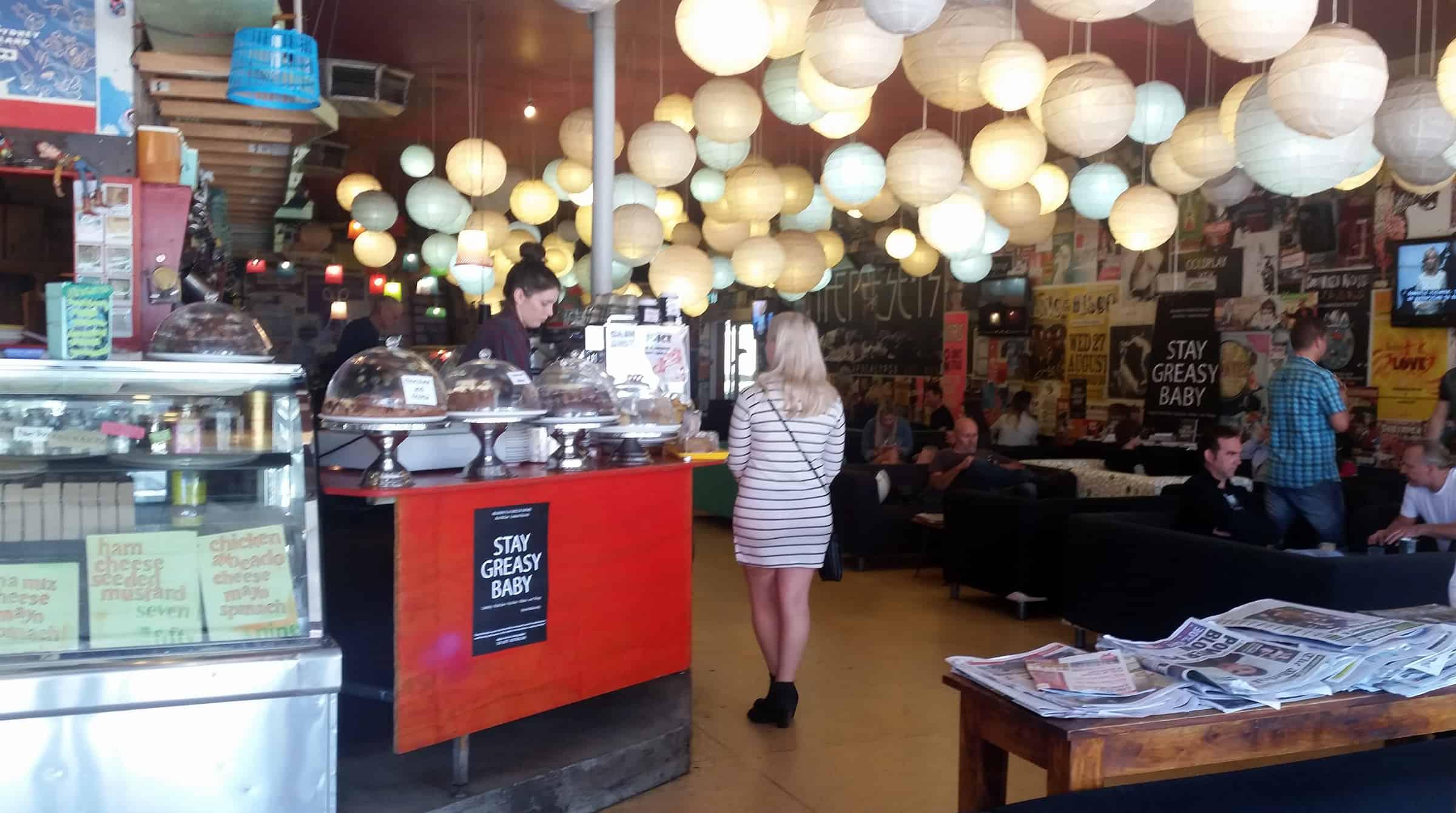 Gezellig koffietentje in Leederville