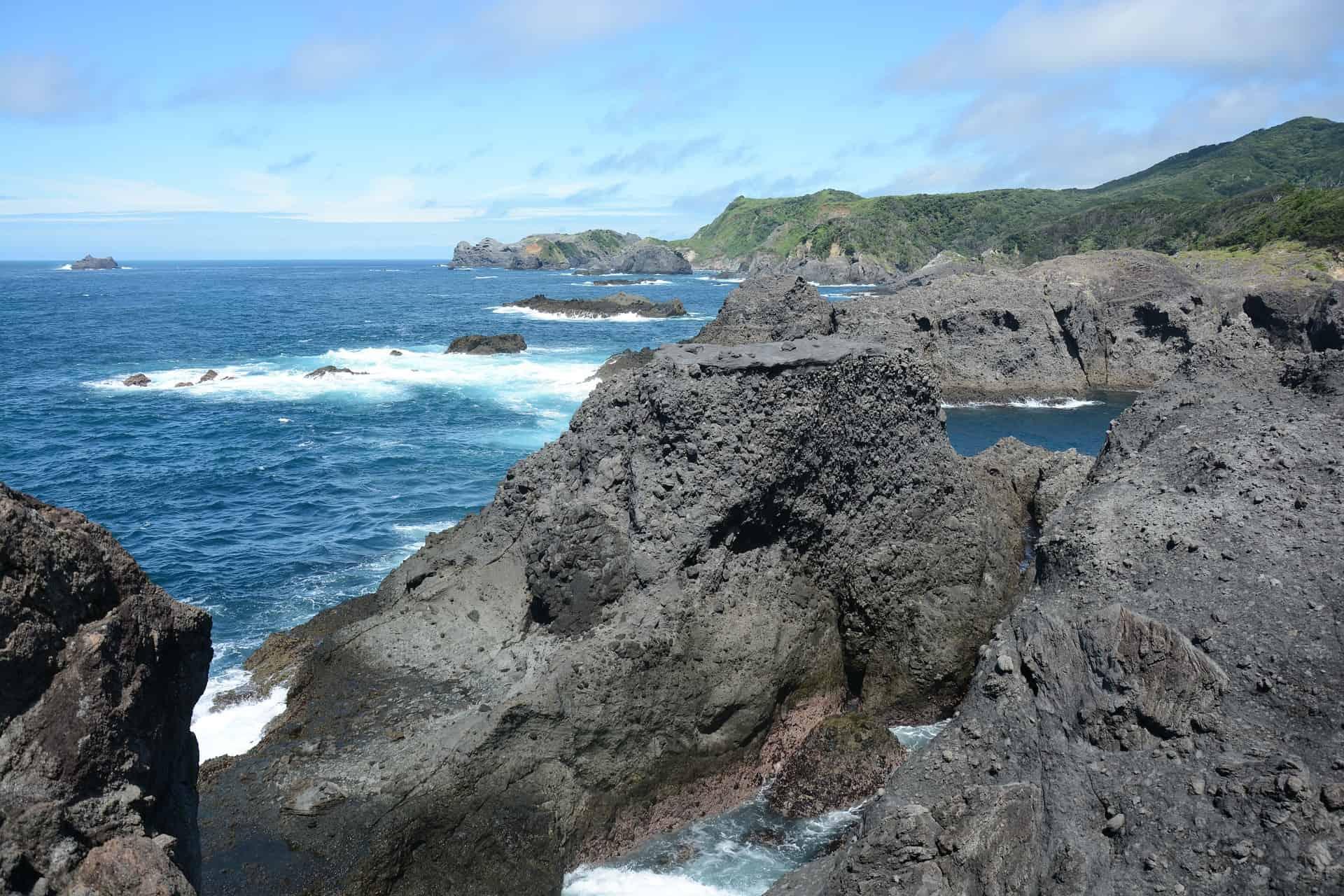 Schitterende kustlijn