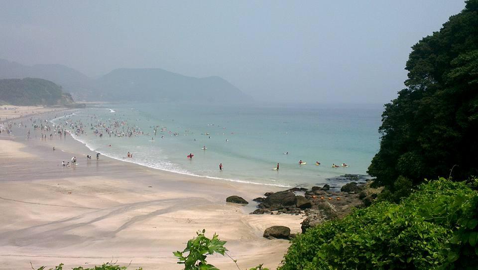 Het prachtige Shiharama Beach
