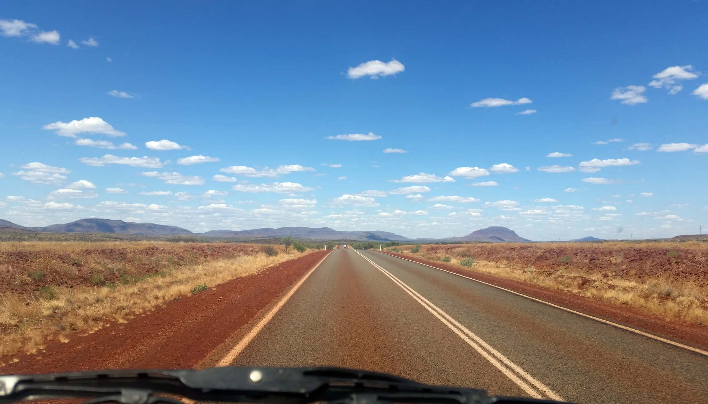 Heerlijk on the road in Australie
