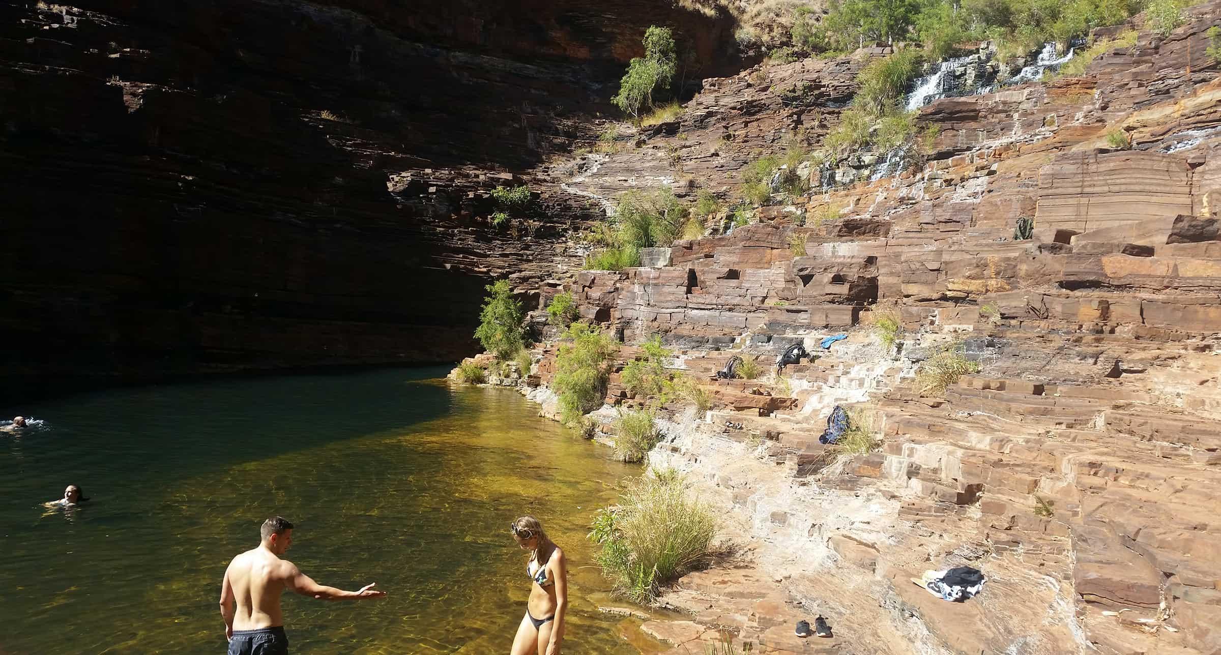 Heerlijk zwemmen
