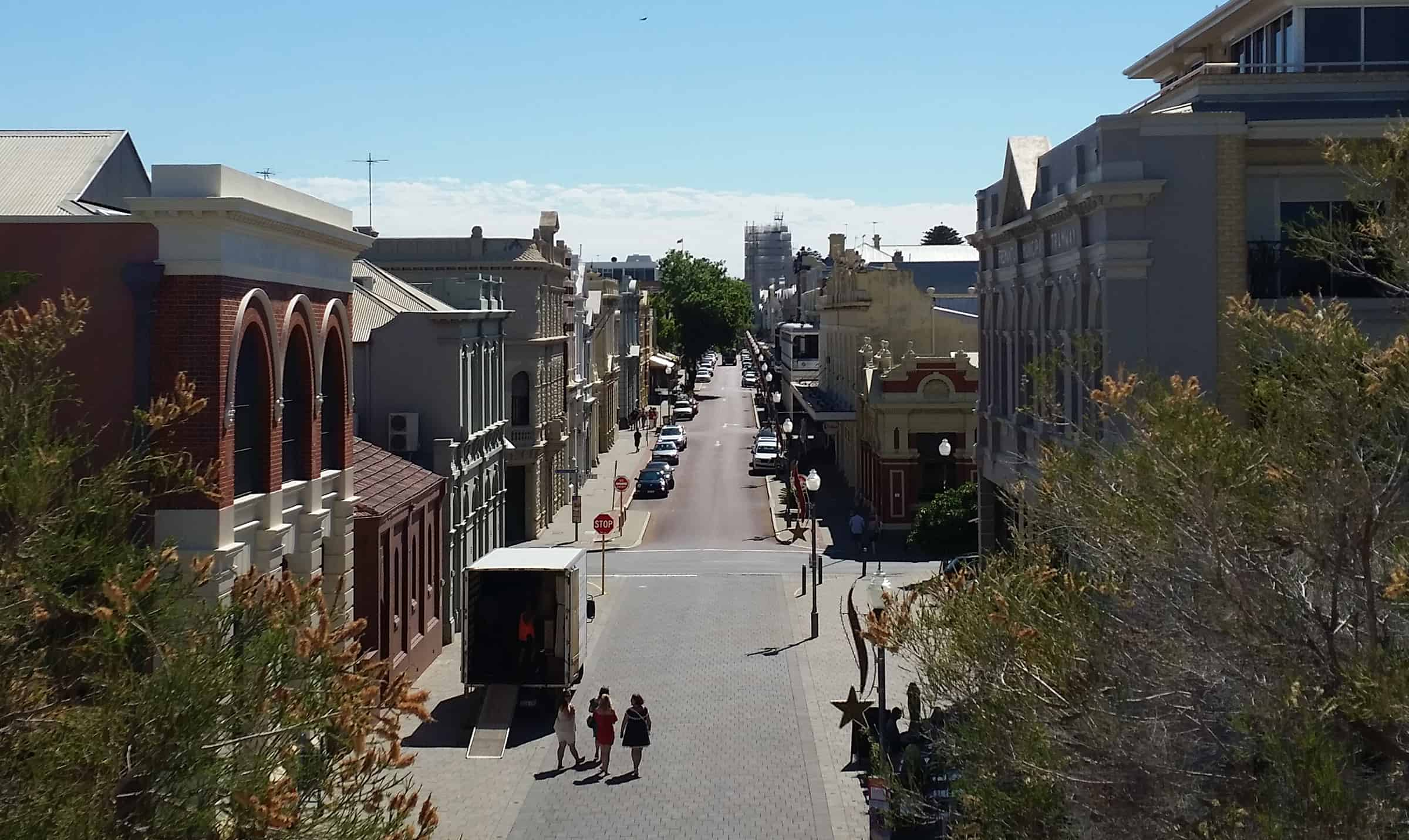 De straten van Freo