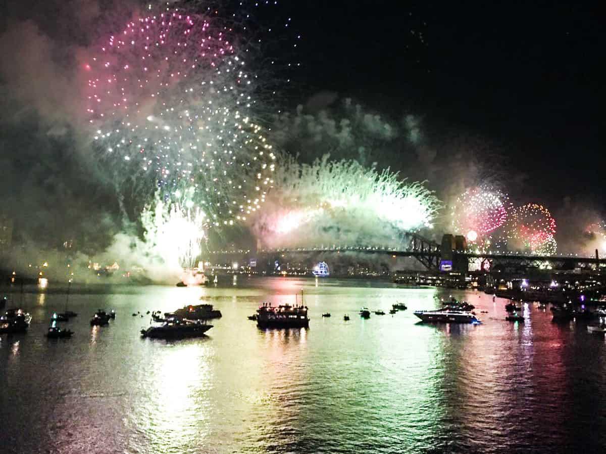 Vuurwerkshow Sydney