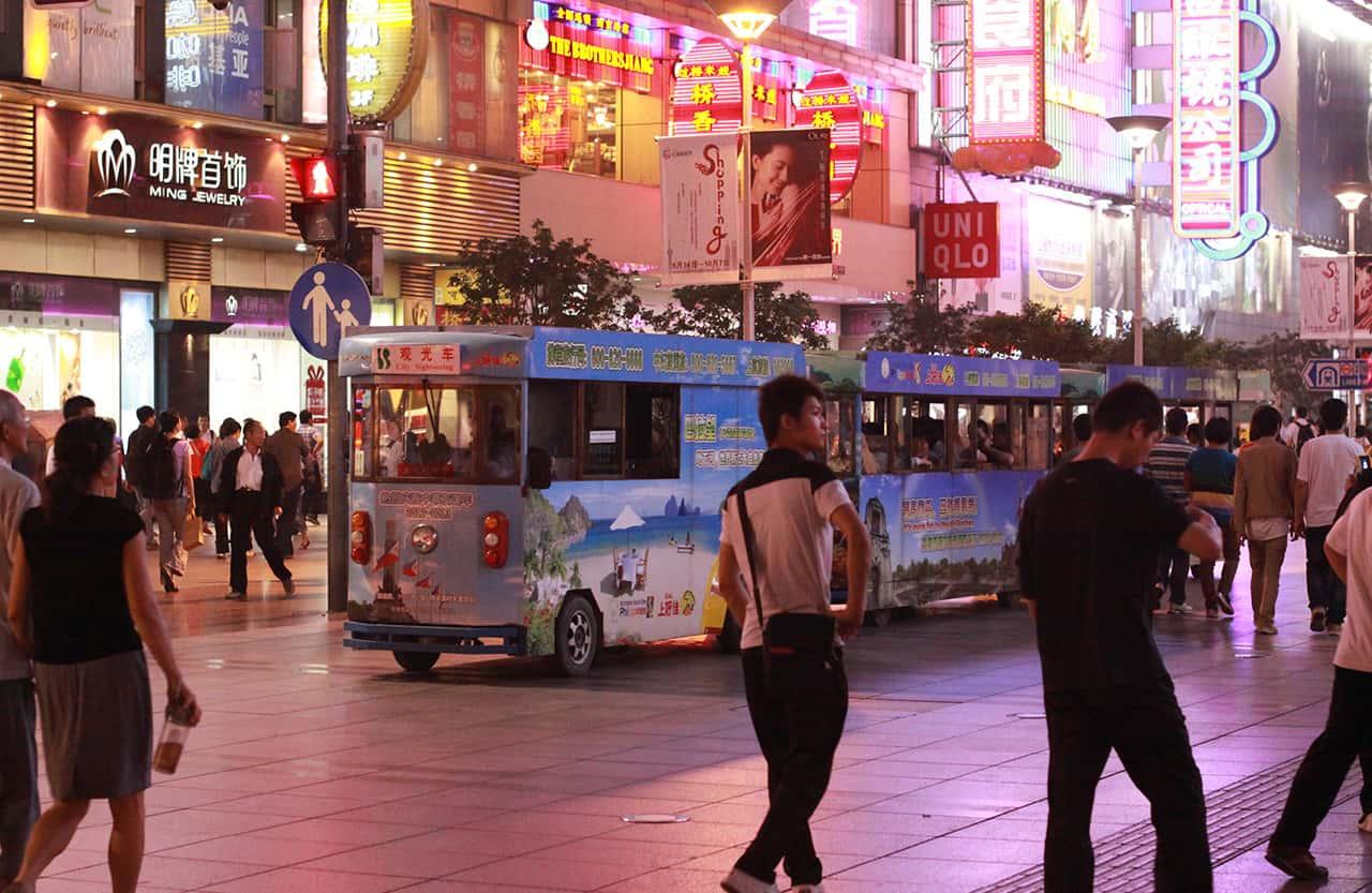 Winkelen in Shanghai
