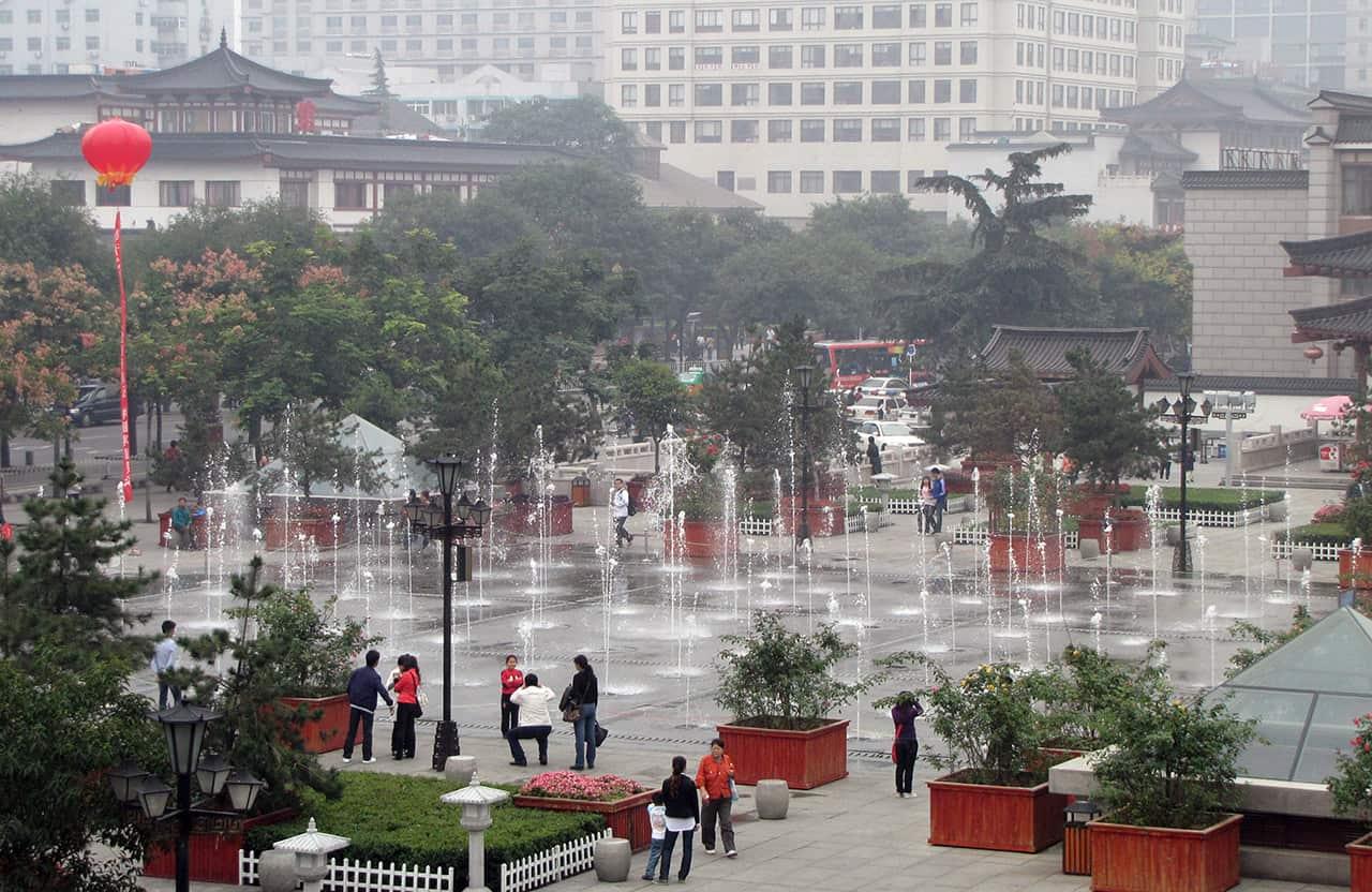 Centrum van van Xi'an