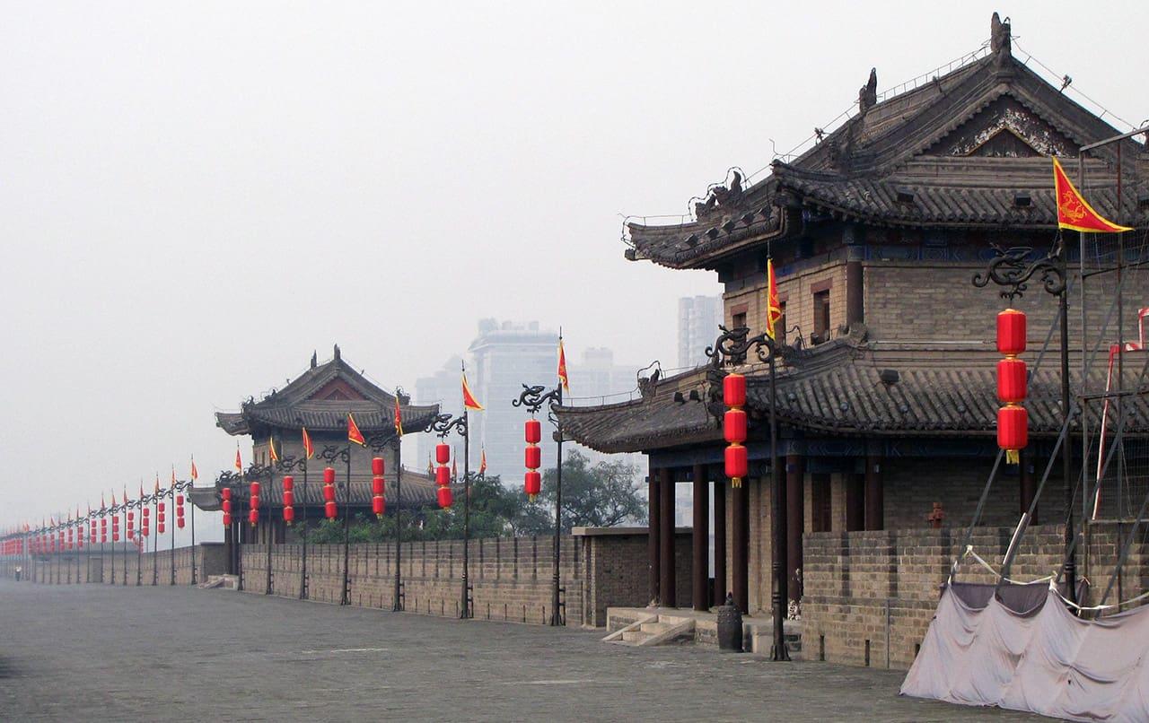 Stadsmuur van Xi'an